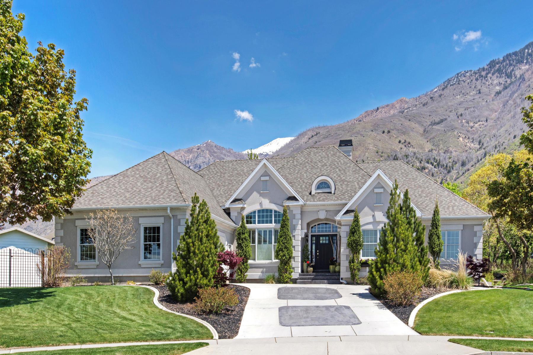 Casa Unifamiliar por un Venta en Fantastic Alpine Rambler 1215 Mountain Oaks Circle Alpine, Utah, 84004 Estados Unidos