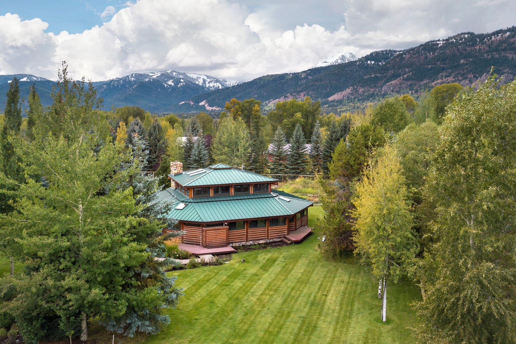 Single Family Home for Sale at Wilson Cabin with a Modern Twist 2095 Coyote Loop, Wilson, Wyoming, 83014 Jackson Hole, United States