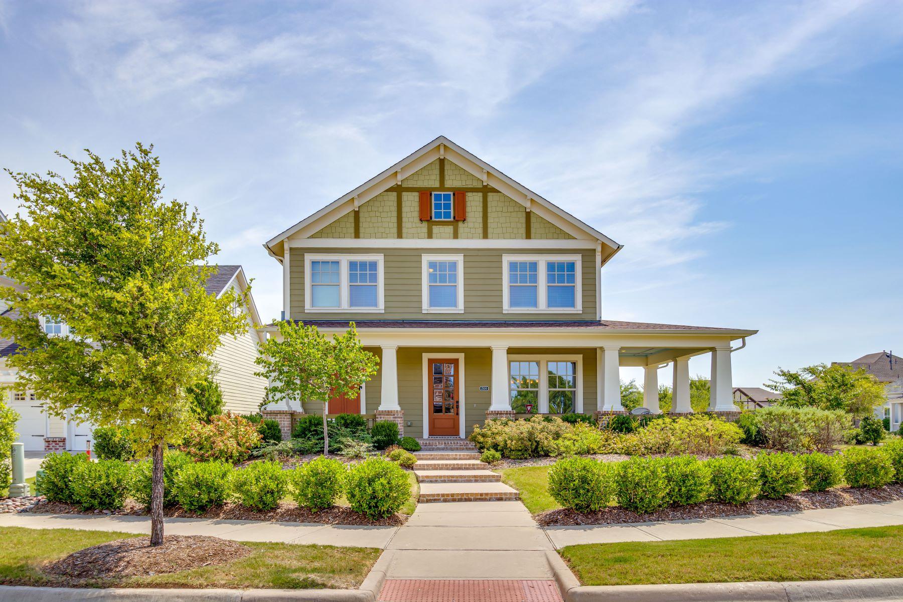 Single Family Homes pour l Vente à Tucker Hill in McKinney 2500 Tremont Boulevard, McKinney, Texas 75071 États-Unis