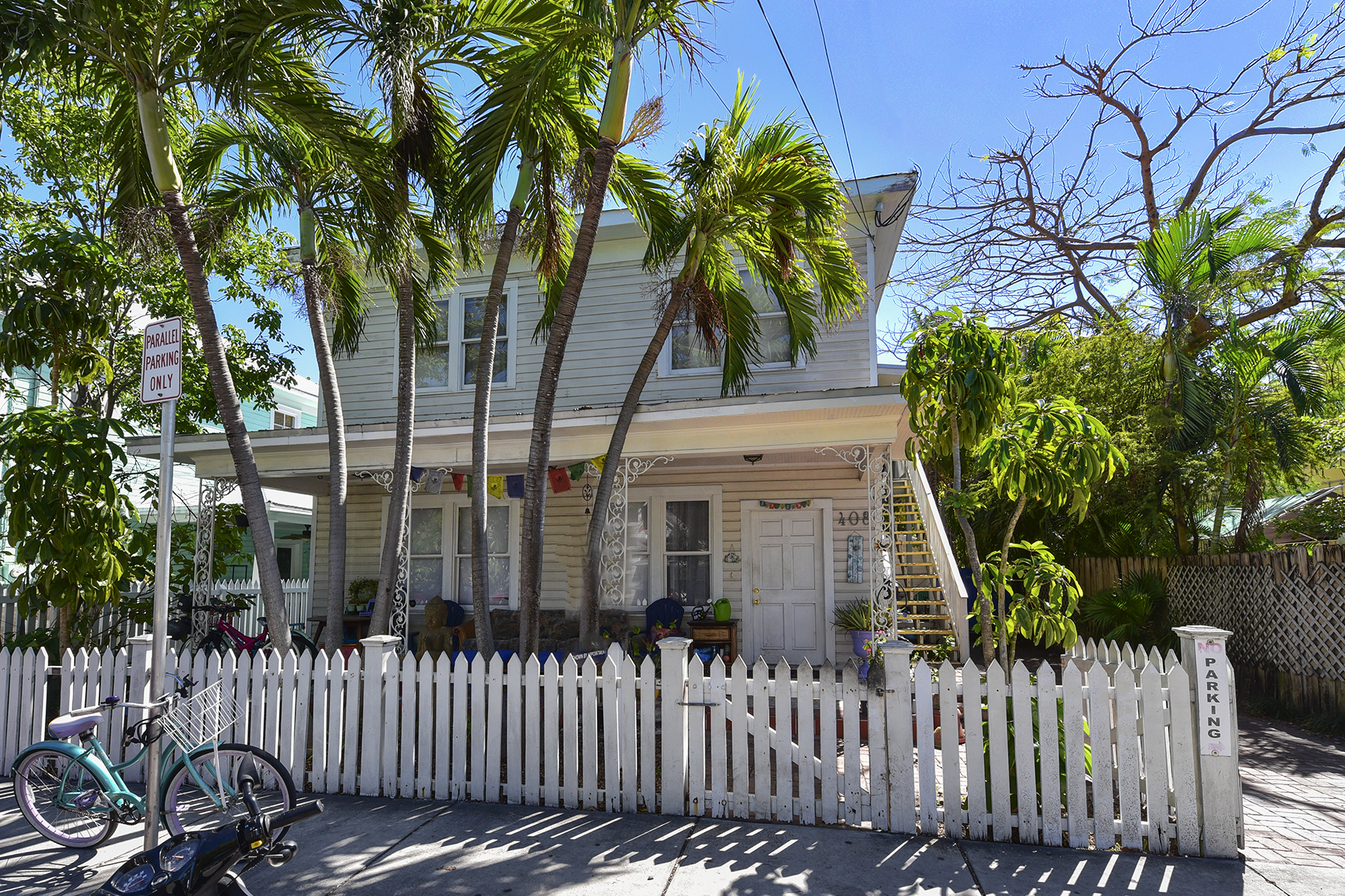Dúplex por un Venta en Duplex in the Heart of Key West 408 Virginia Street Key West, Florida 33040 Estados Unidos