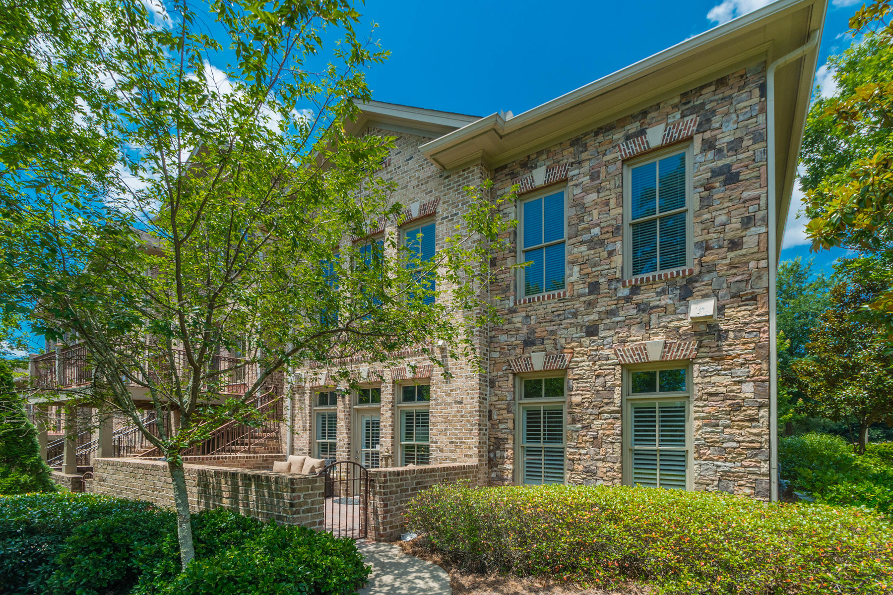Townhouse for Sale at Bright, Immaculate Townhome In Gated Buckhead Community 3051 Stone Gate Drive NE Atlanta, Georgia, 30324 United States