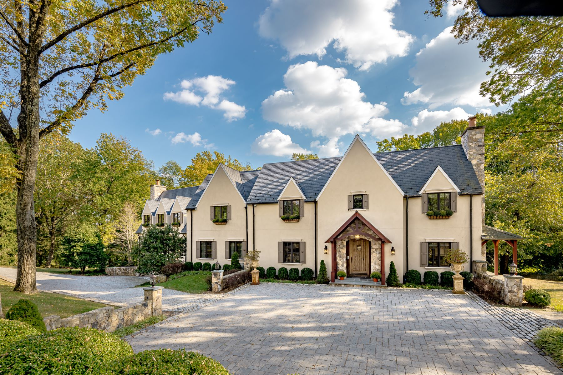 Single Family Homes for Active at French Custom Manor 2 Crownview Lane Bernardsville, New Jersey 07924 United States