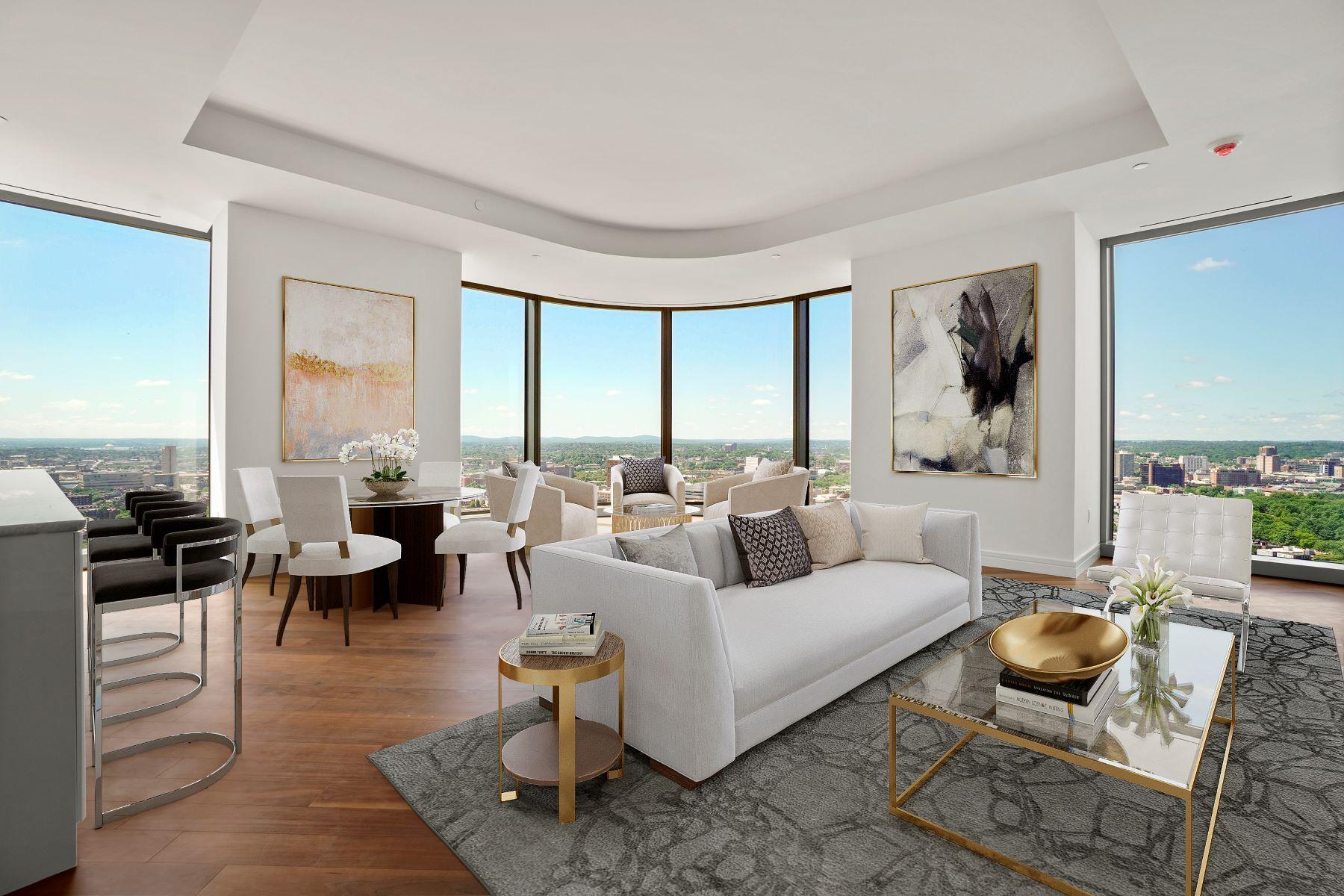 Condominiums por un Venta en Four Seasons at One Dalton, Residence 3205 1 Dalton Street - Residence 3205 Boston, Massachusetts 02116 Estados Unidos