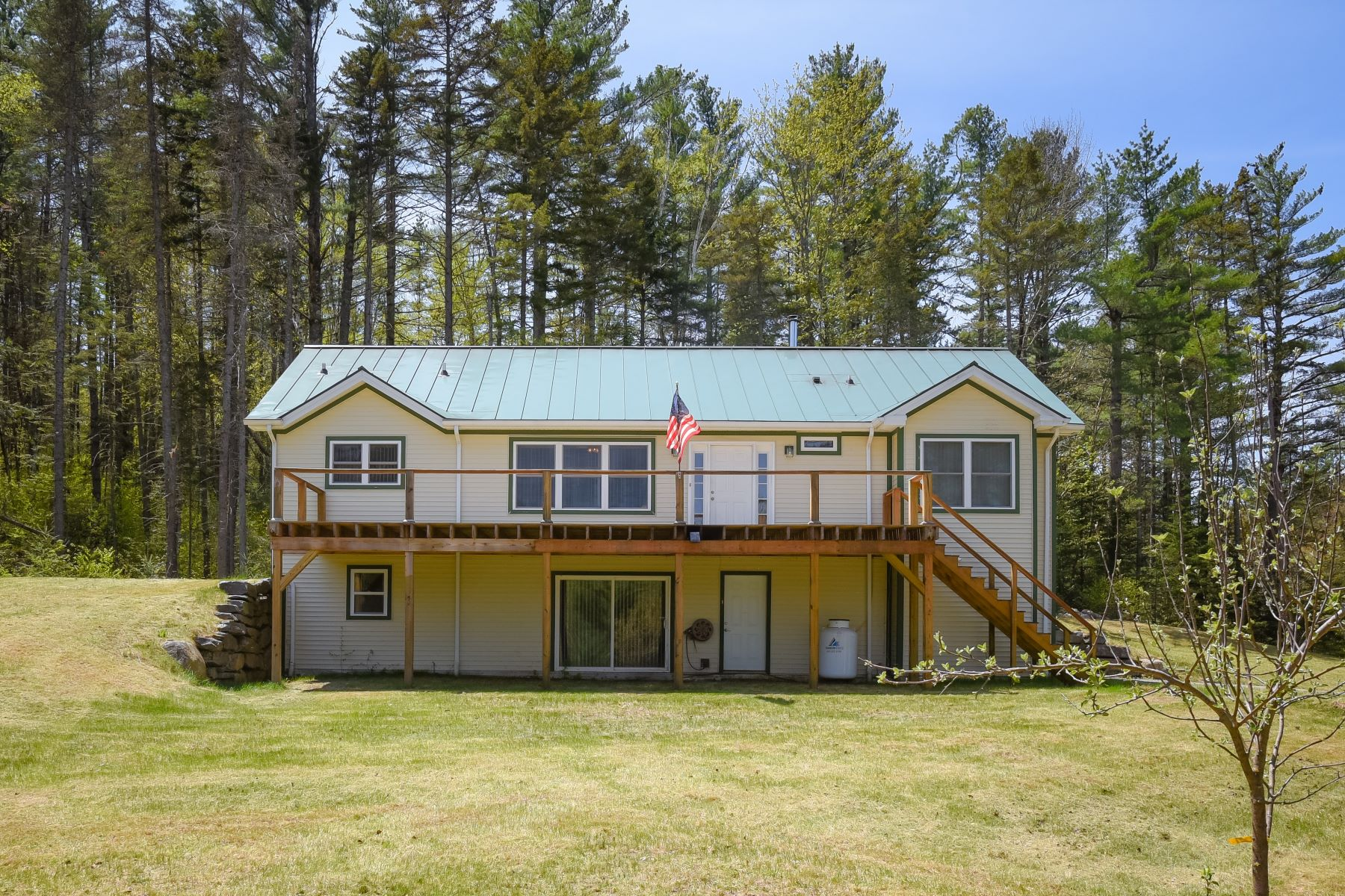single family homes for Sale at Four Bedroom Ranch in Corinth 2055 Brook Rd Corinth, Vermont 05039 United States