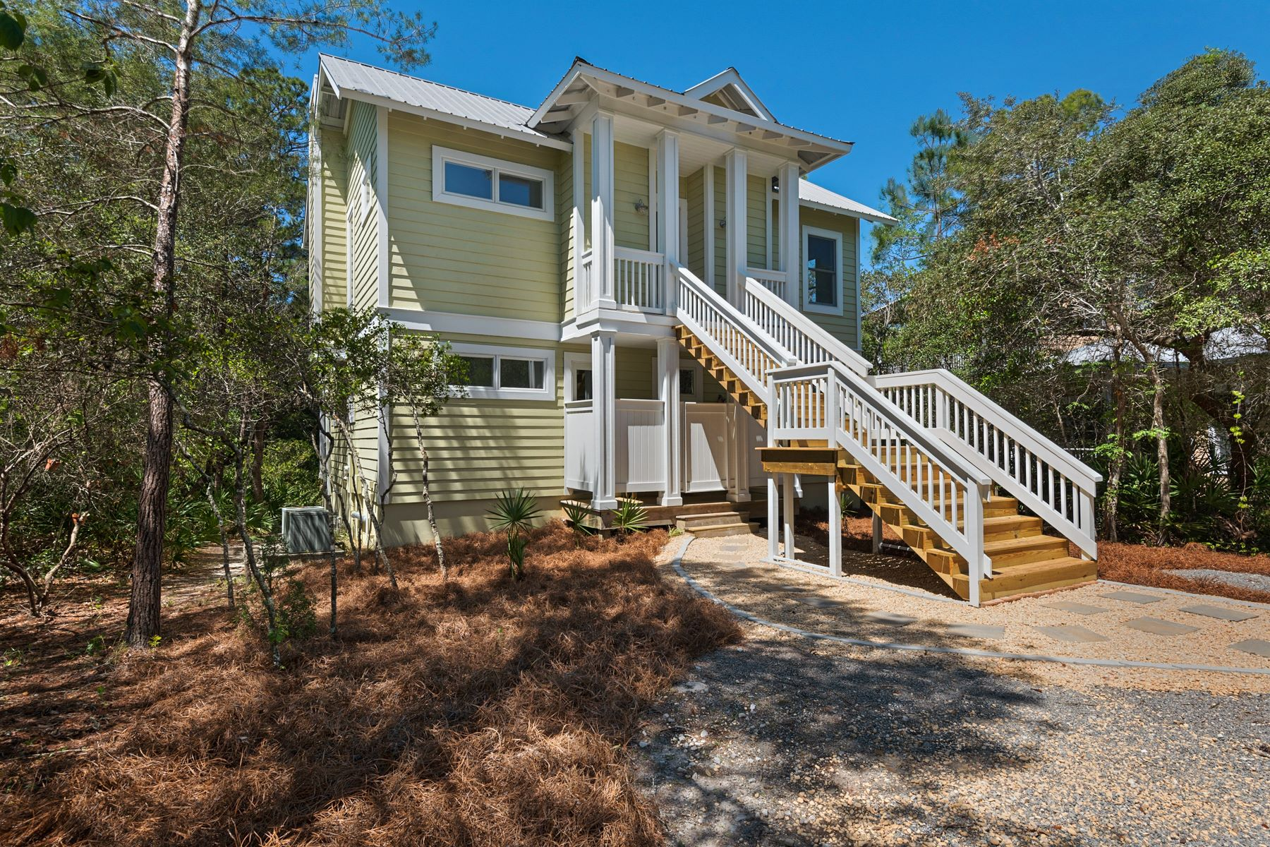 Single Family Home for Sale at SLEEK, MODERN, RENOVATED HOUSE IN PRIVATE LAKEFRONT SETTING 353 Wilderness Way Santa Rosa Beach, Florida, 32459 United States