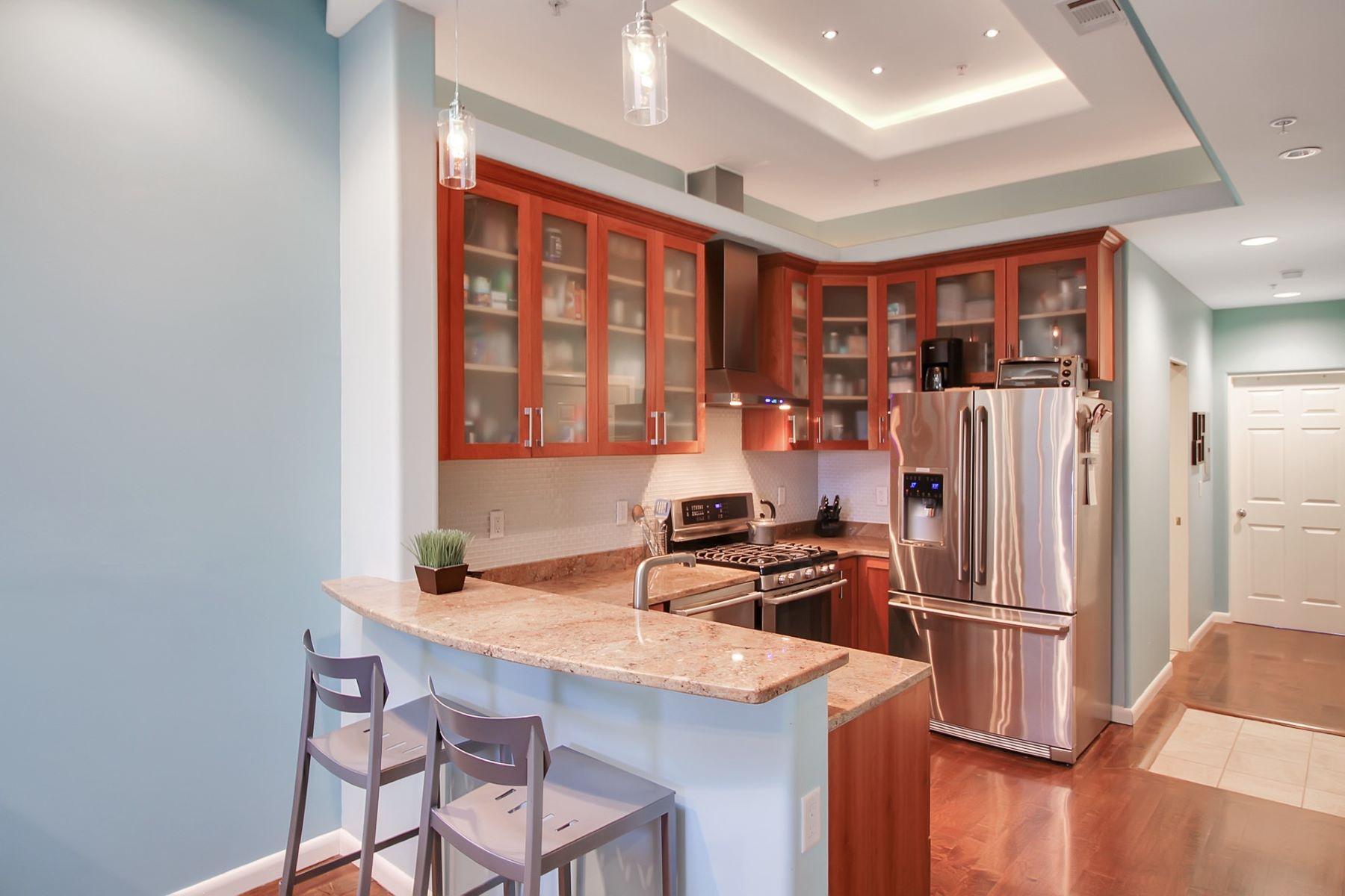 Condominium for Sale at Enjoy the Hoboken lifestyle along NJ's Gold Coast! 933 Garden St #5L, Hoboken, New Jersey 07030 United States