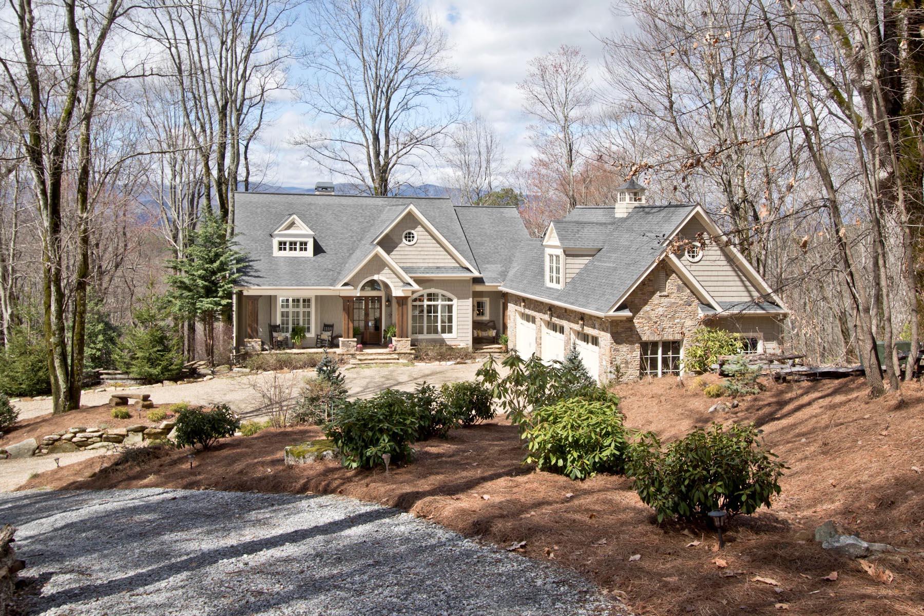 واحد منزل الأسرة للـ Sale في 585 Hurrah Ridge Scaly Mountain, North Carolina, 28775 United States