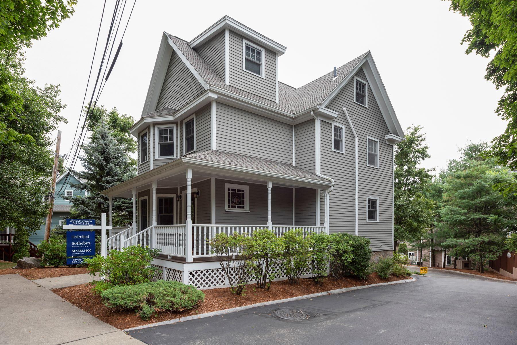 Condominiums 为 销售 在 73 Beecher Pl 73 牛顿, 马萨诸塞州 02459 美国