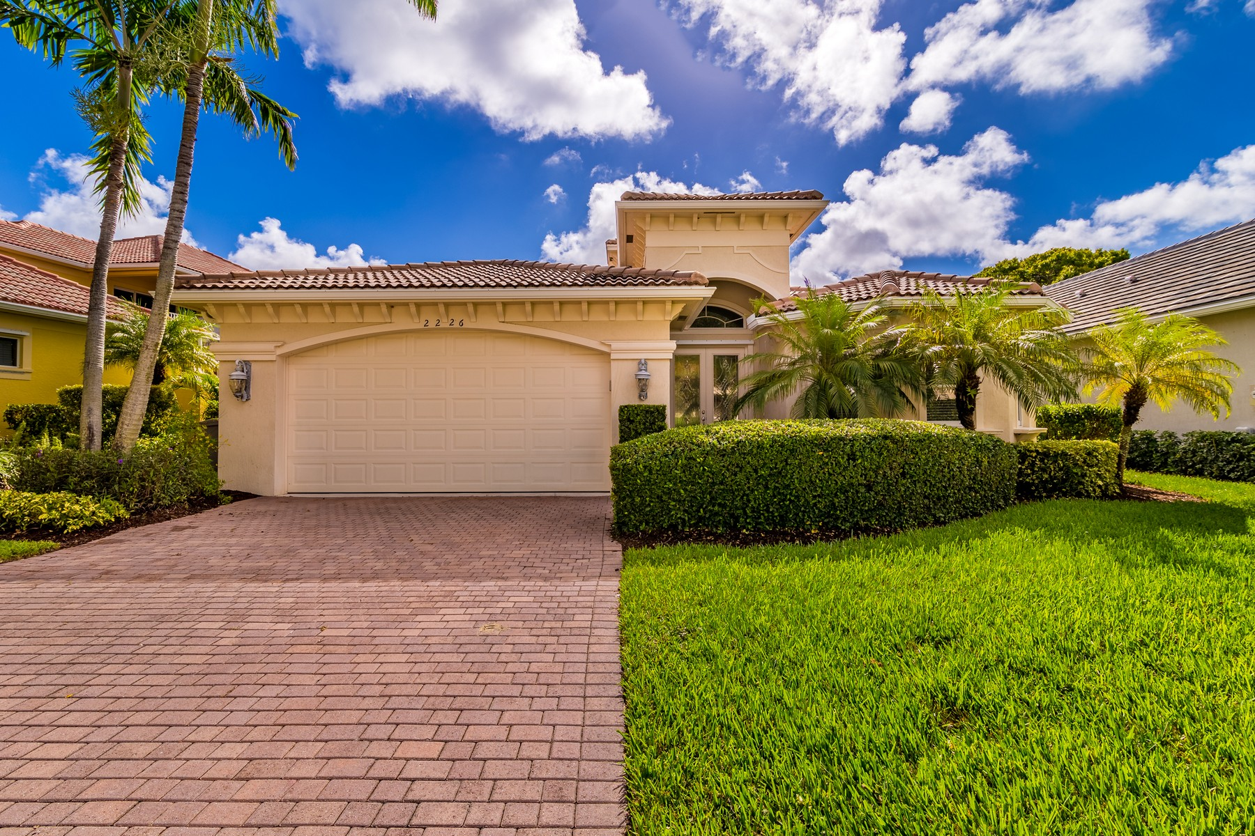 Single Family Home for Sale at Waterfront Home in Gated Community 2226 Falls Circle Vero Beach, Florida 32967 United States