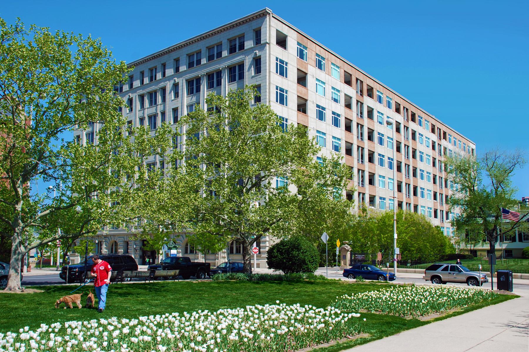 Condominiums for Sale at Super Location 400 Pike Street # 507 Cincinnati, Ohio 45202 United States
