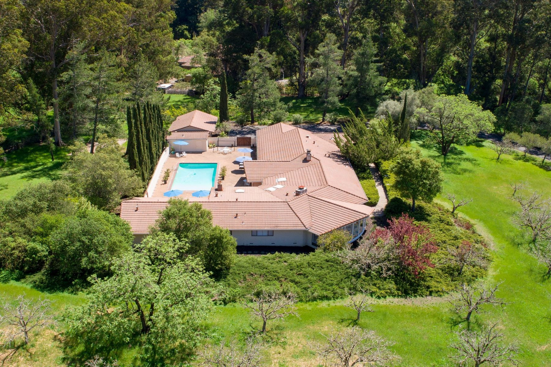 Single Family Homes for Sale at 310 Kings Mountain Road Woodside, California 94062 United States