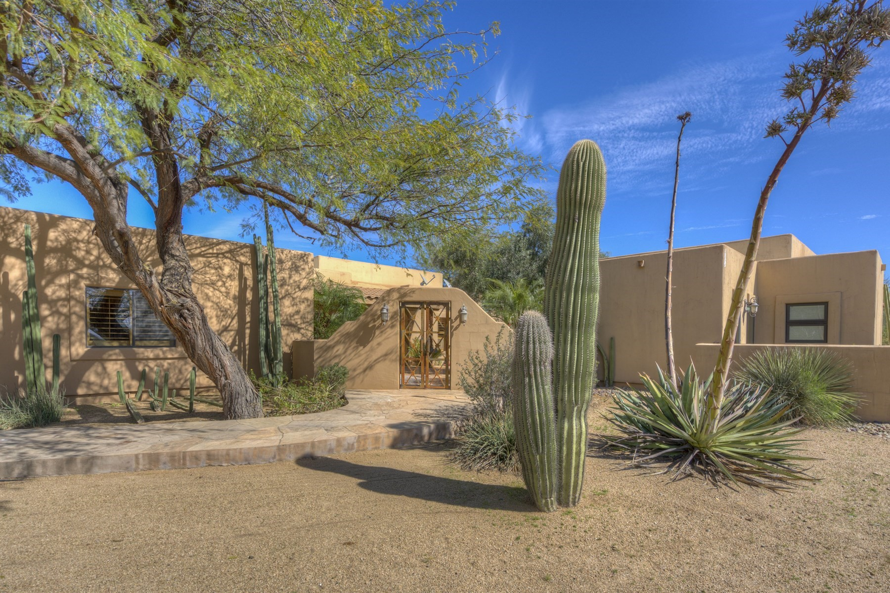 Single Family Home for Sale at Sonoran Ranch house in Cave Creek 5101 E Cloud Rd, Cave Creek, Arizona, 85331 United States