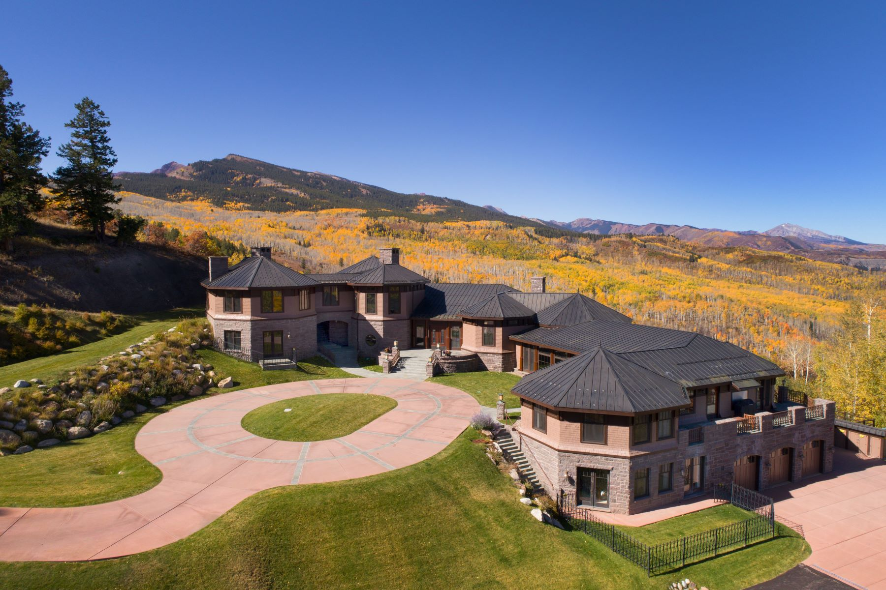 Single Family Homes for Sale at Owl Mountain Ranch 2900 West Buttermilk Road Aspen, Colorado 81611 United States