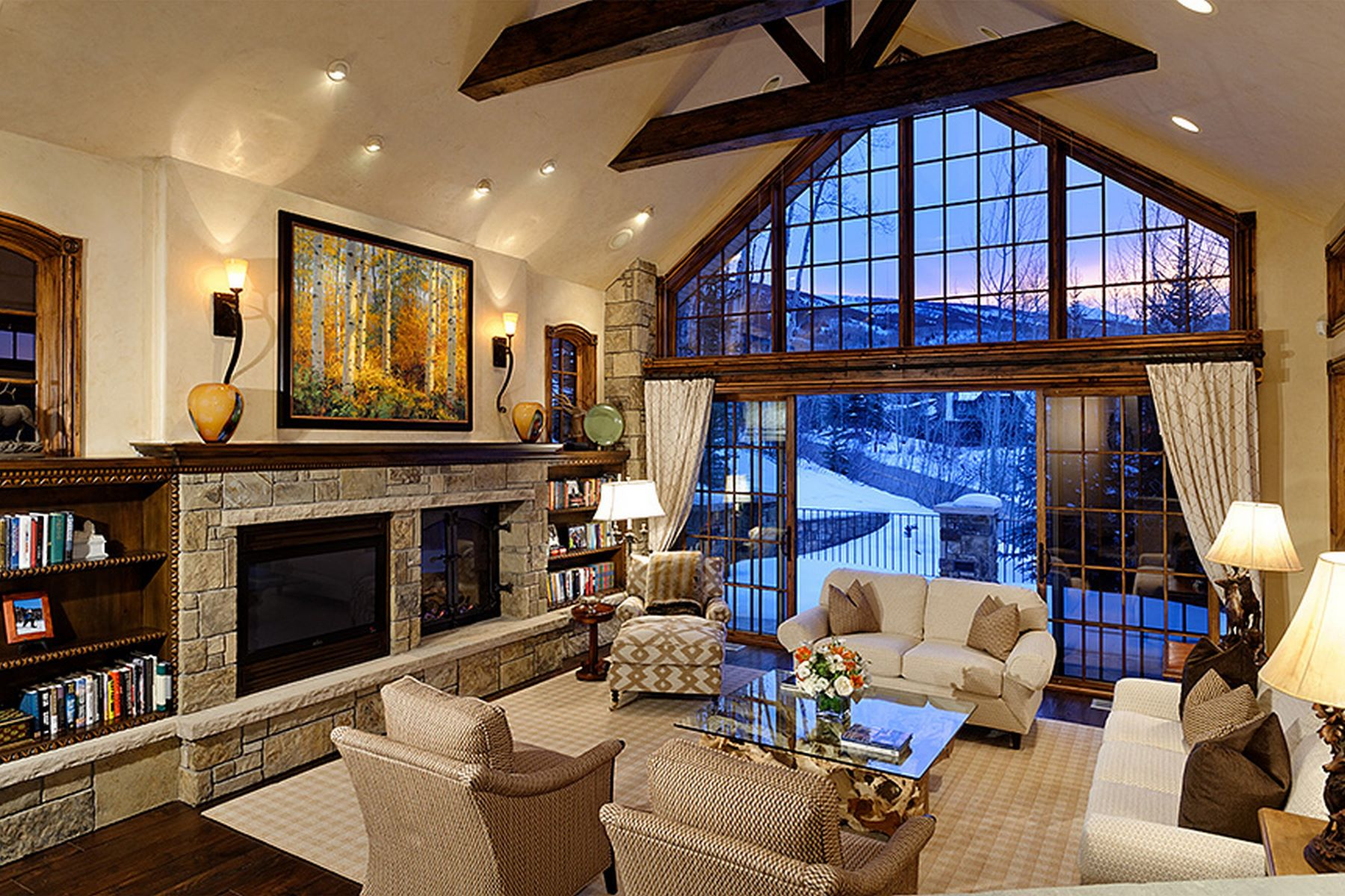 Single Family Home for Sale at Handsome Ski-In/Ski-Out Retreat 440 Spruce Ridge Lane, Snowmass Village, Colorado, 81615 United States