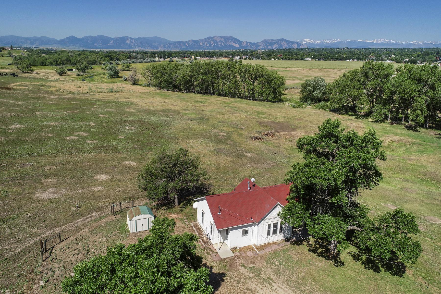 Single Family Homes for Sale at Boulder County Gem 10064 Empire Rd Lafayette, Colorado 80026 United States