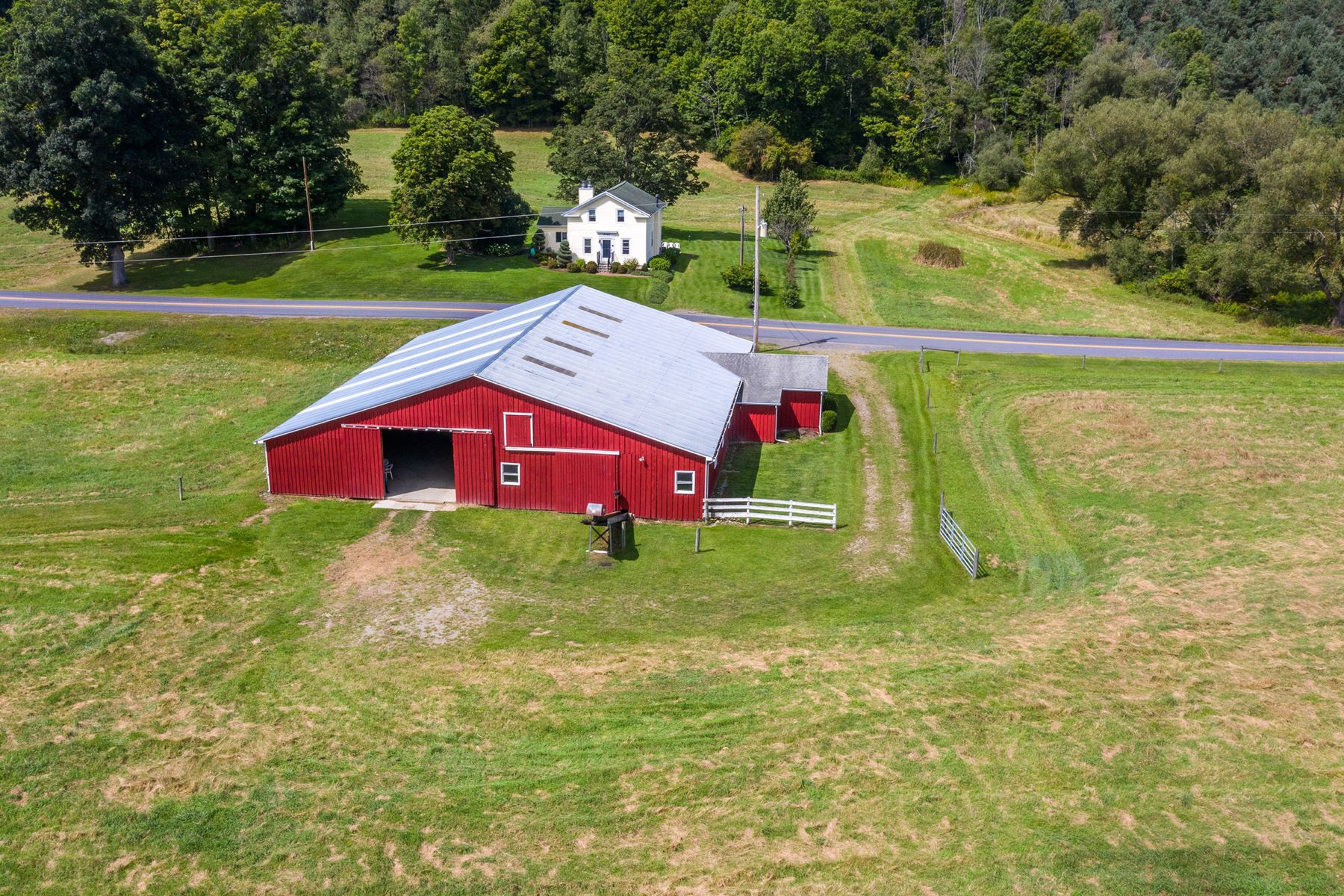 "Farm / Ranch / Plantation for Sale at ""The Cottage of Content"" at Red Hills Farm 7065 County Route 14 Bath, New York 14810 United States"