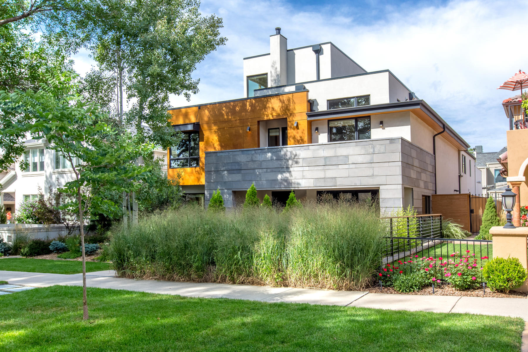 Single Family Homes for Sale at A Timeless Contemporary by the Renowned Architectural Firm of Alvarez Morris 555 Clayton Street Denver, Colorado 8206 United States