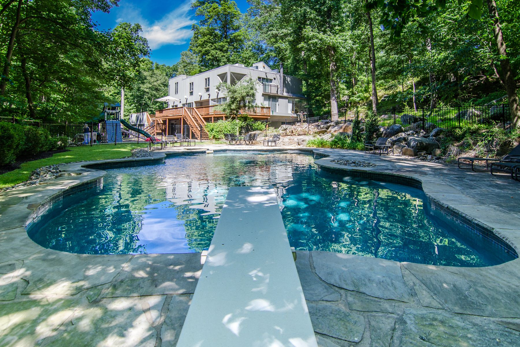 Property for Sale at Dramatic Design In A Serene Setting 945 Great Road, Princeton, New Jersey 08540 United States