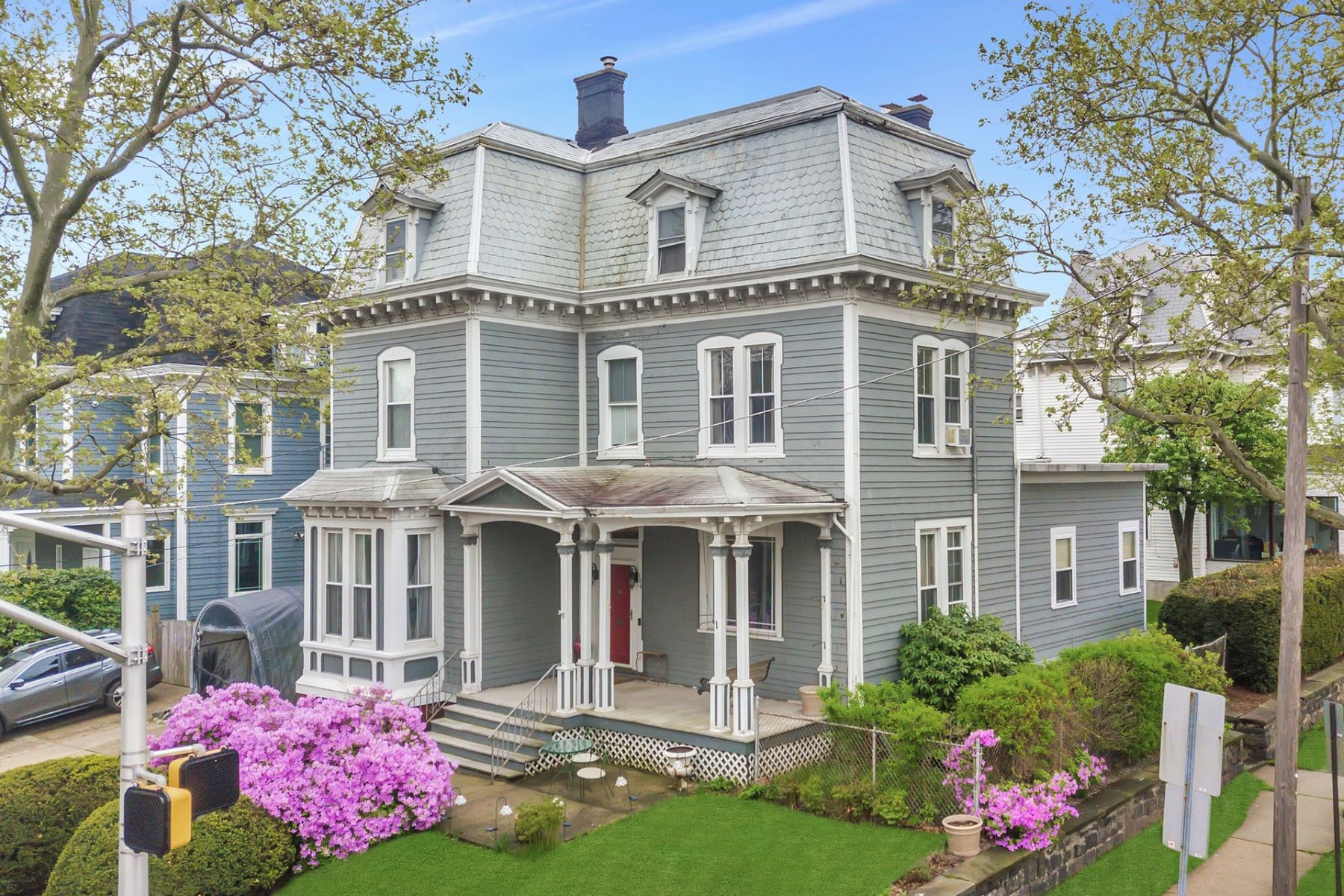Single Family Homes for Sale at Architecturally significant 3 story Victorian mansion in Bayonne 104-106 West 8th St Bayonne, New Jersey 07002 United States