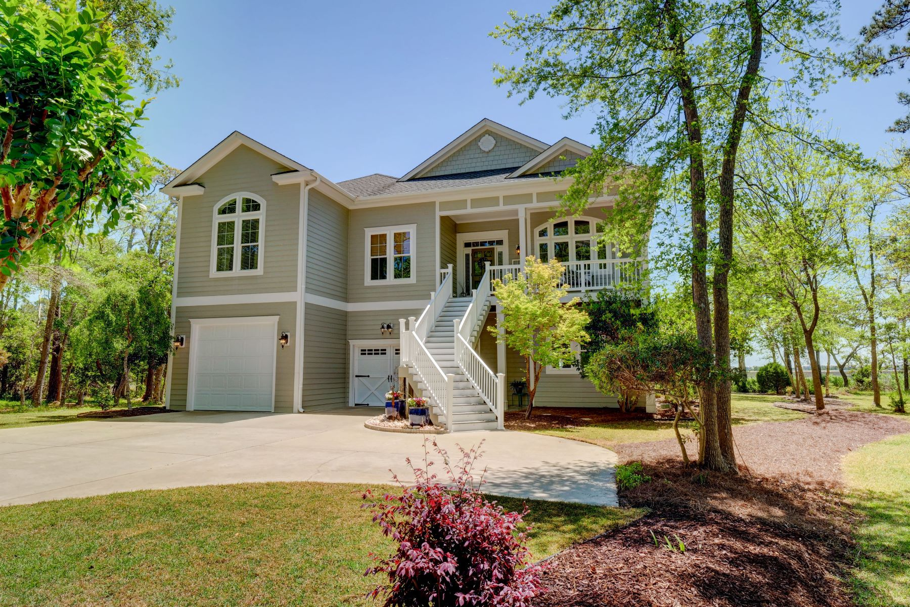 Single Family Homes for Sale at Spectacular Marsh Front Property 3271 Marsh View Drive Supply, North Carolina 28462 United States