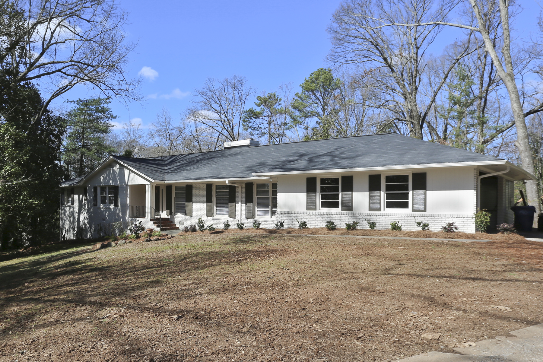 Single Family Home for Rent at Completely Renovated Ranch Home 1195 Mount Paran Road NW Atlanta, Georgia 30327 United States