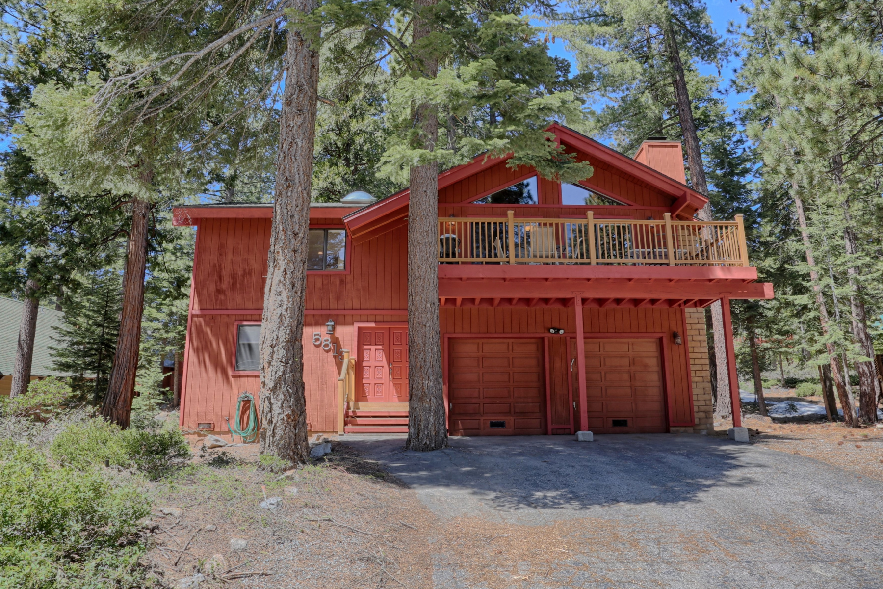 Single Family Home for Sale at 5813 Dodowah Rd, Carnelian Bay, CA 5813 Dodowah Rd. Carnelian Bay, California 96140 United States
