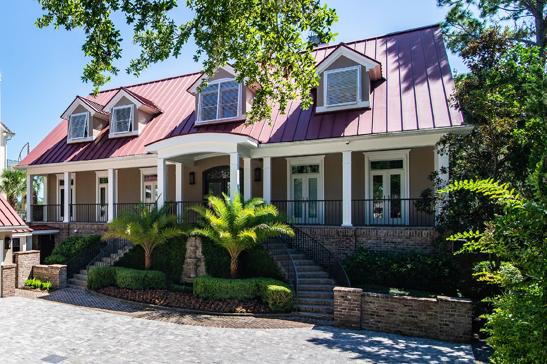 Single Family Homes for Sale at River views, sunsets and deep water on Amelia Island 135 Long Point Drive Amelia Island, Florida 32034 United States