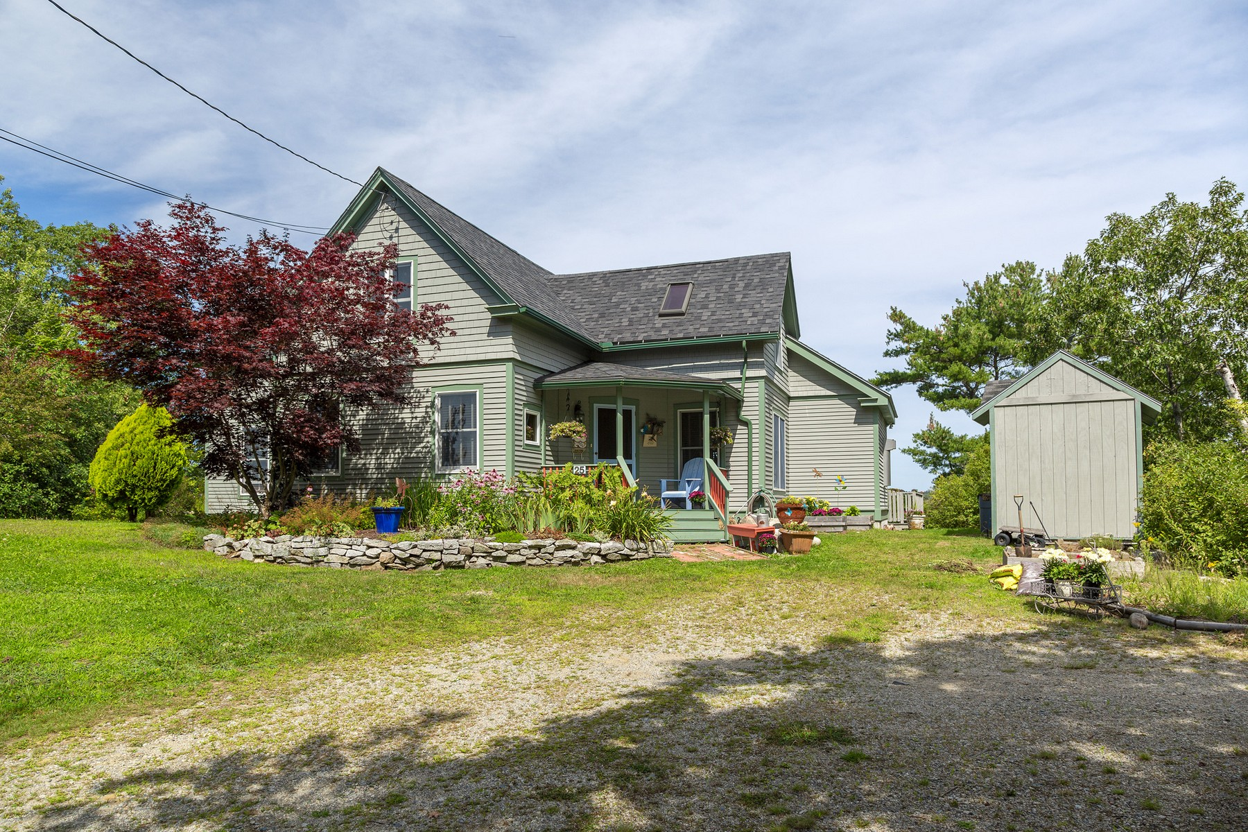 Single Family Homes for Sale at Water Color Cottage 25 Bay View Avenue, Sorrento, Maine 04677 United States
