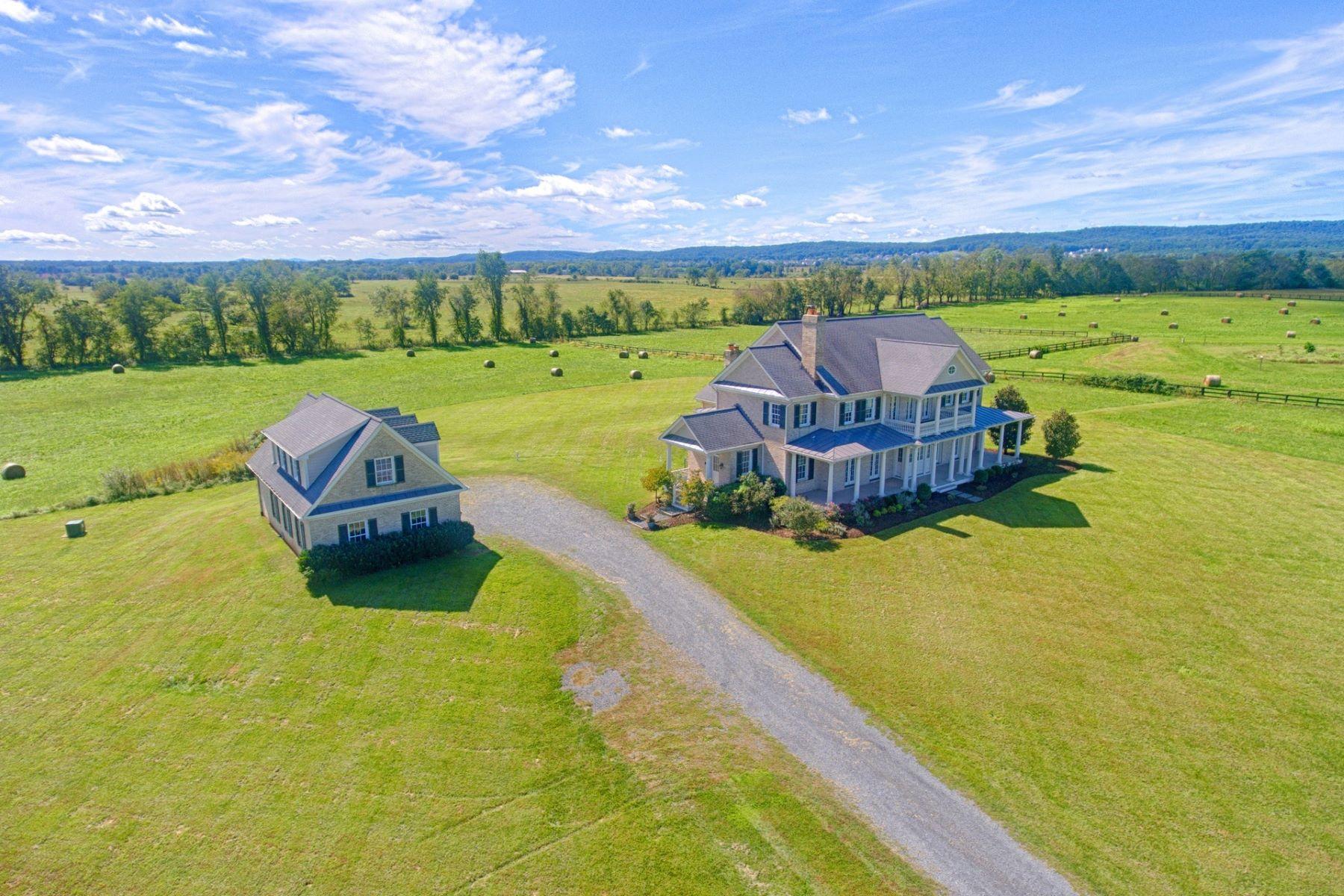 Single Family Home for Sale at Lees Crossing 42779 Travelers Run Lane Leesburg, Virginia 20176 United States