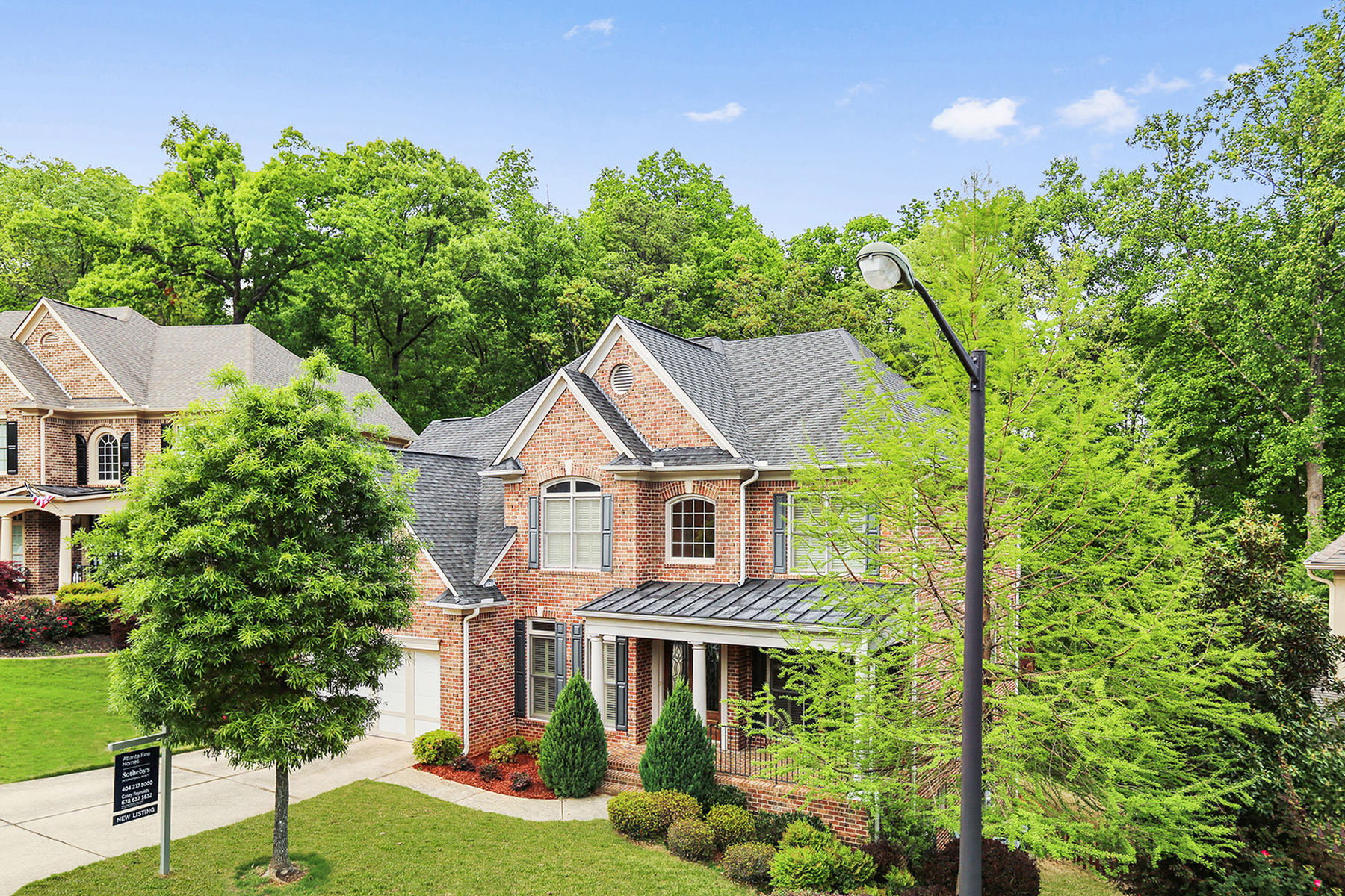 Single Family Home for Sale at A Sophisticated Mableton Masterpiece 5546 Highland Preserve Drive Mableton, Georgia, 30126 United States