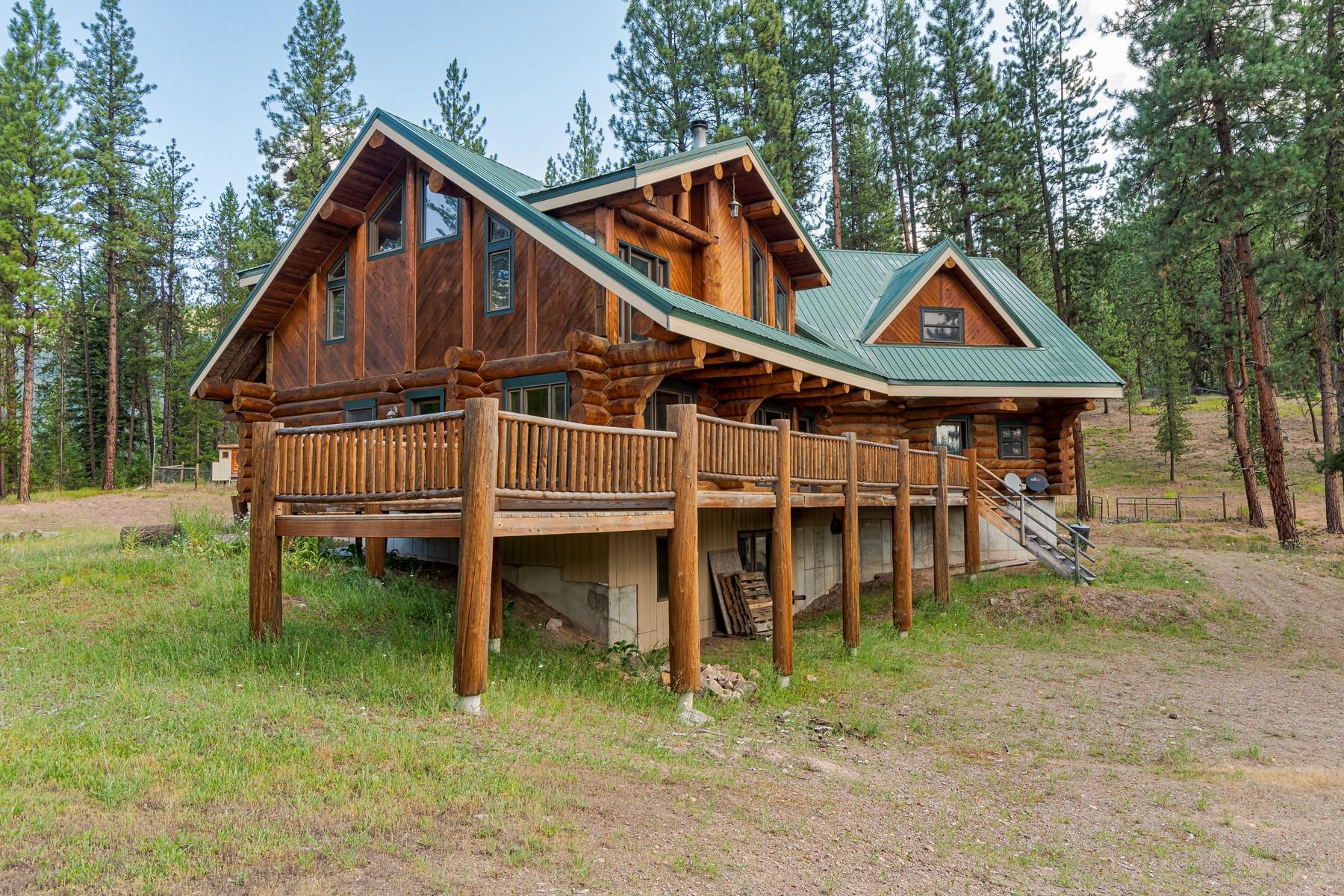 Single Family Homes 为 销售 在 1555 Outback Trail 艾伯顿, 蒙大拿州 59820 美国