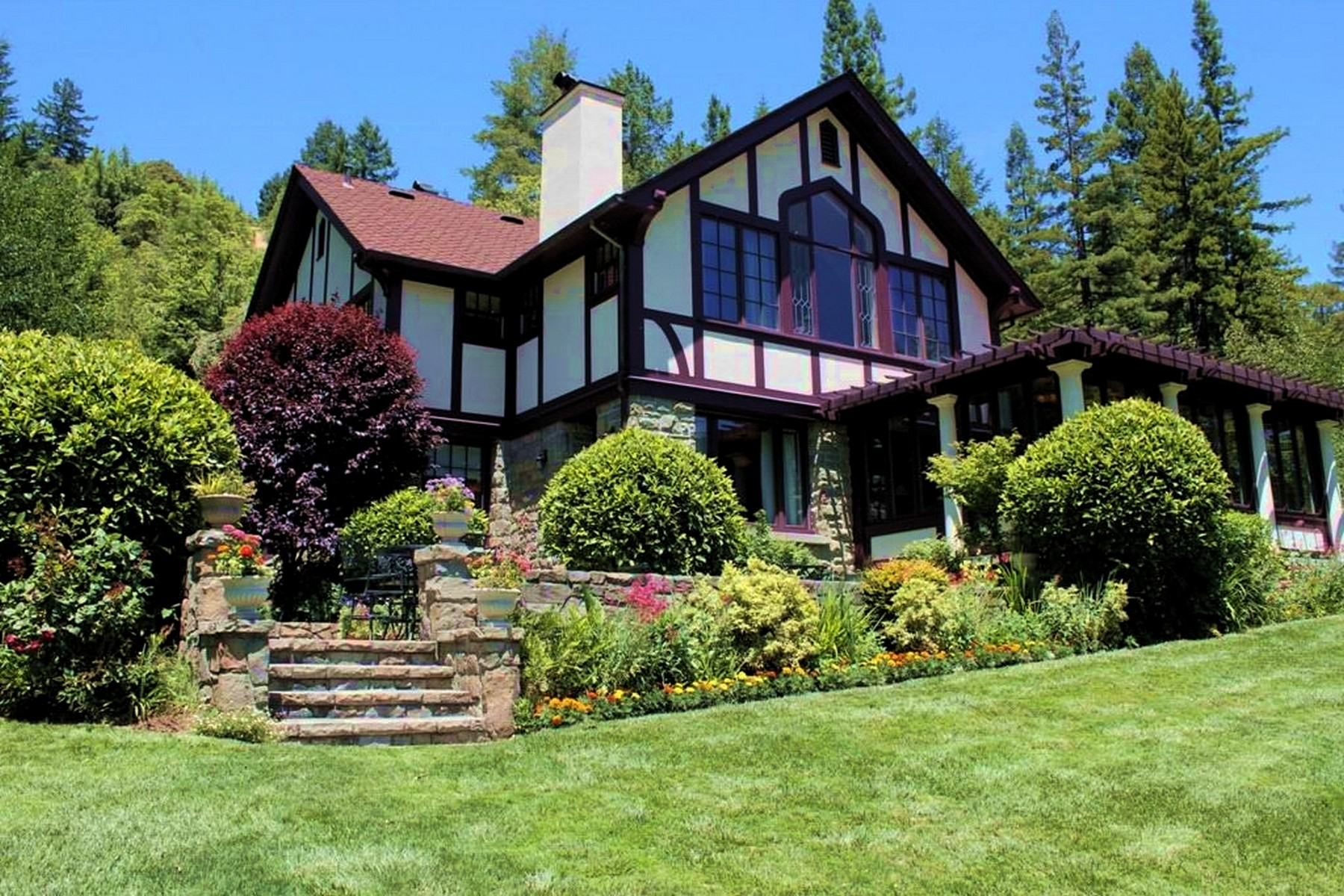 Single Family Homes for Sale at Julia Morgan Estate Garberville, California 95542 United States