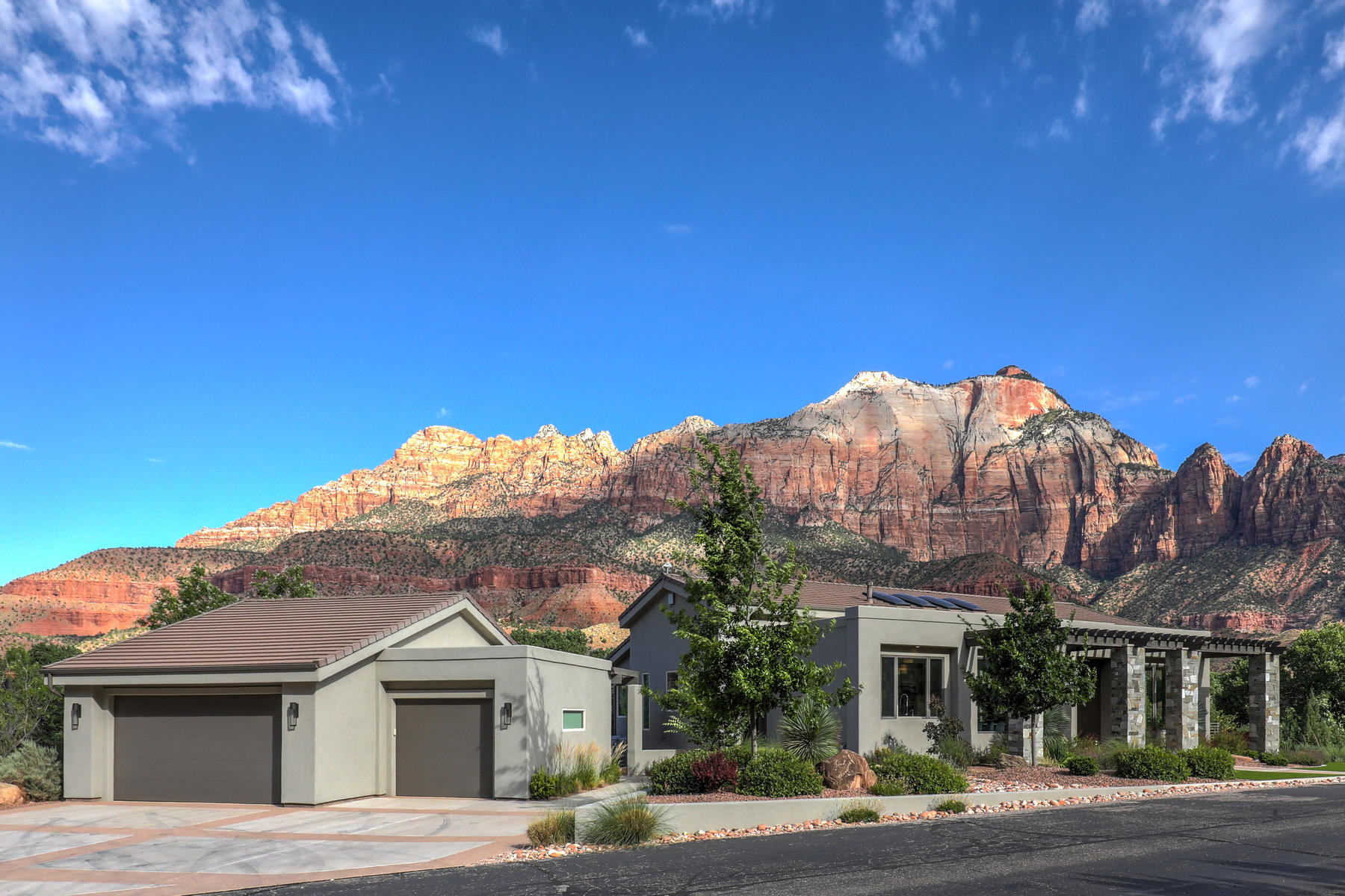 Single Family Homes for Active at Stunning Zion Riverside Showpiece 1215 Canyon Springs Drive Springdale, Utah 84767 United States