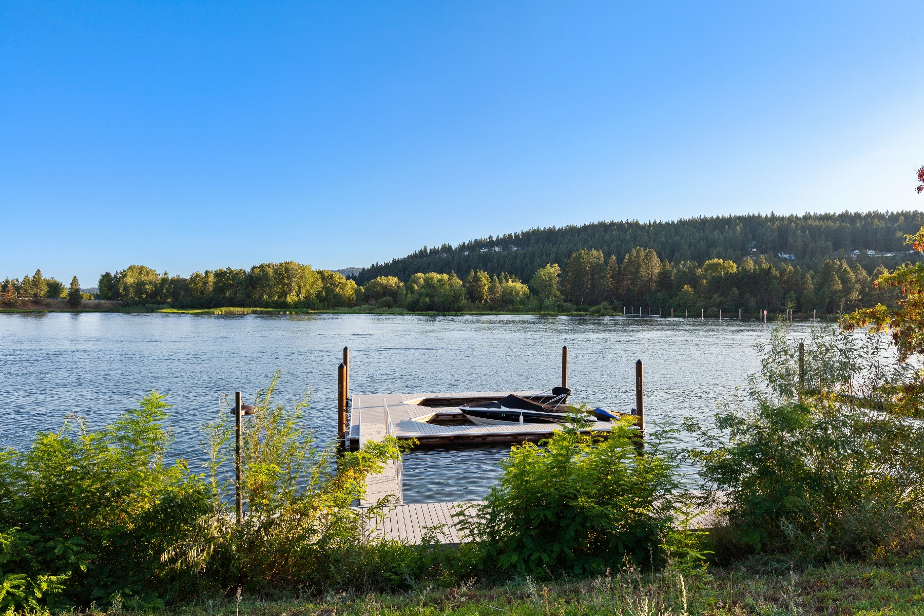 Single Family Homes for Sale at Modern Spokane Riverfront Beauty 1228 W Bellerive Ln Coeur D Alene, Idaho 83814 United States