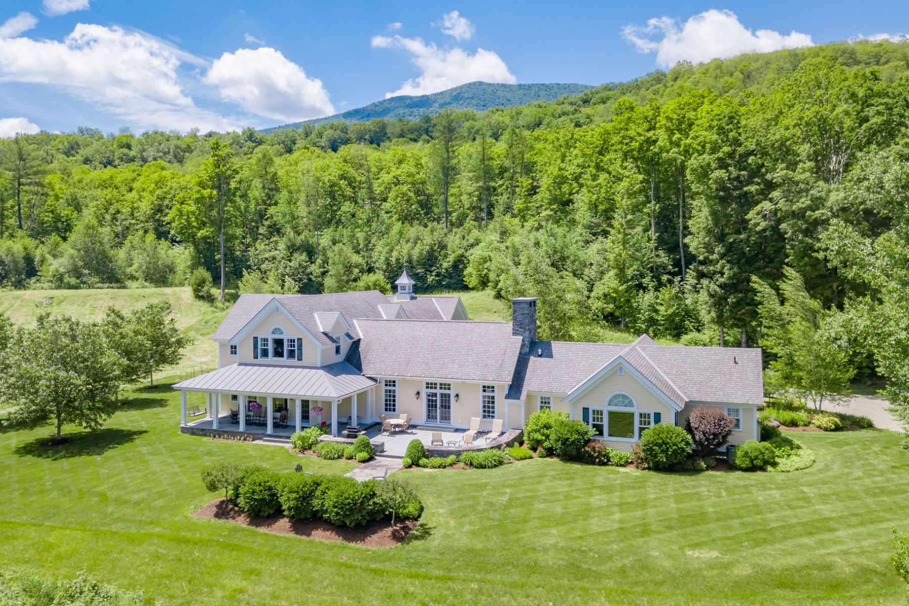 single family homes for Sale at Dorset Contemporary Cape 1273 Dorset West Rd Dorset, Vermont 05251 United States