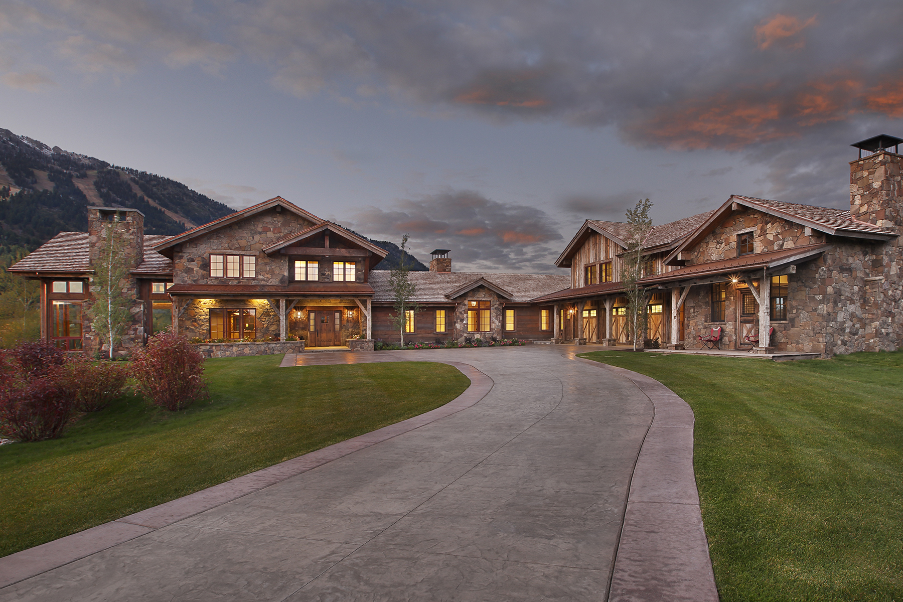Single Family Home for Sale at Shooting Star New Construction 7165 Jensen Canyon Road Teton Village, Wyoming 83025 United States