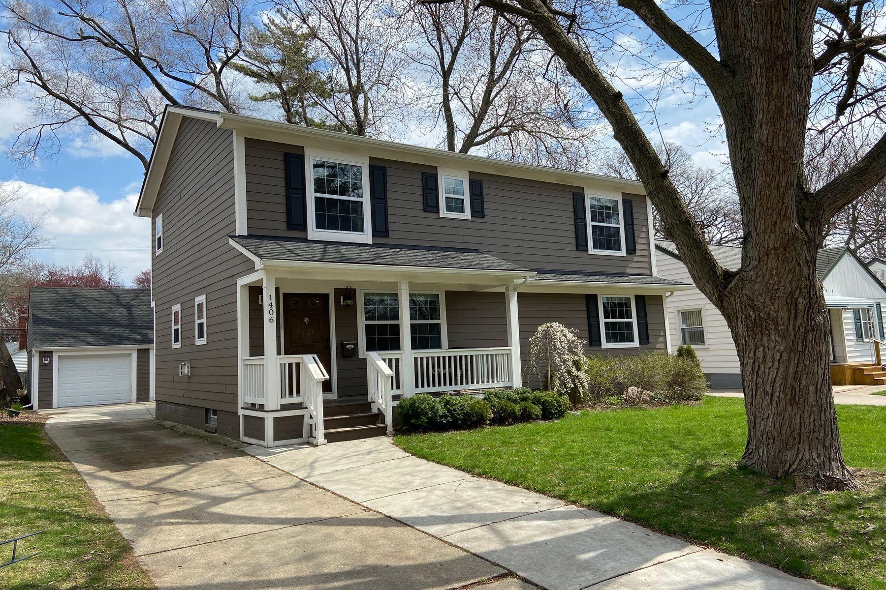 Single Family Homes 为 销售 在 Royal Oak 1406 N Blair Avenue 罗雅尔奥克, 密歇根州 48067 美国