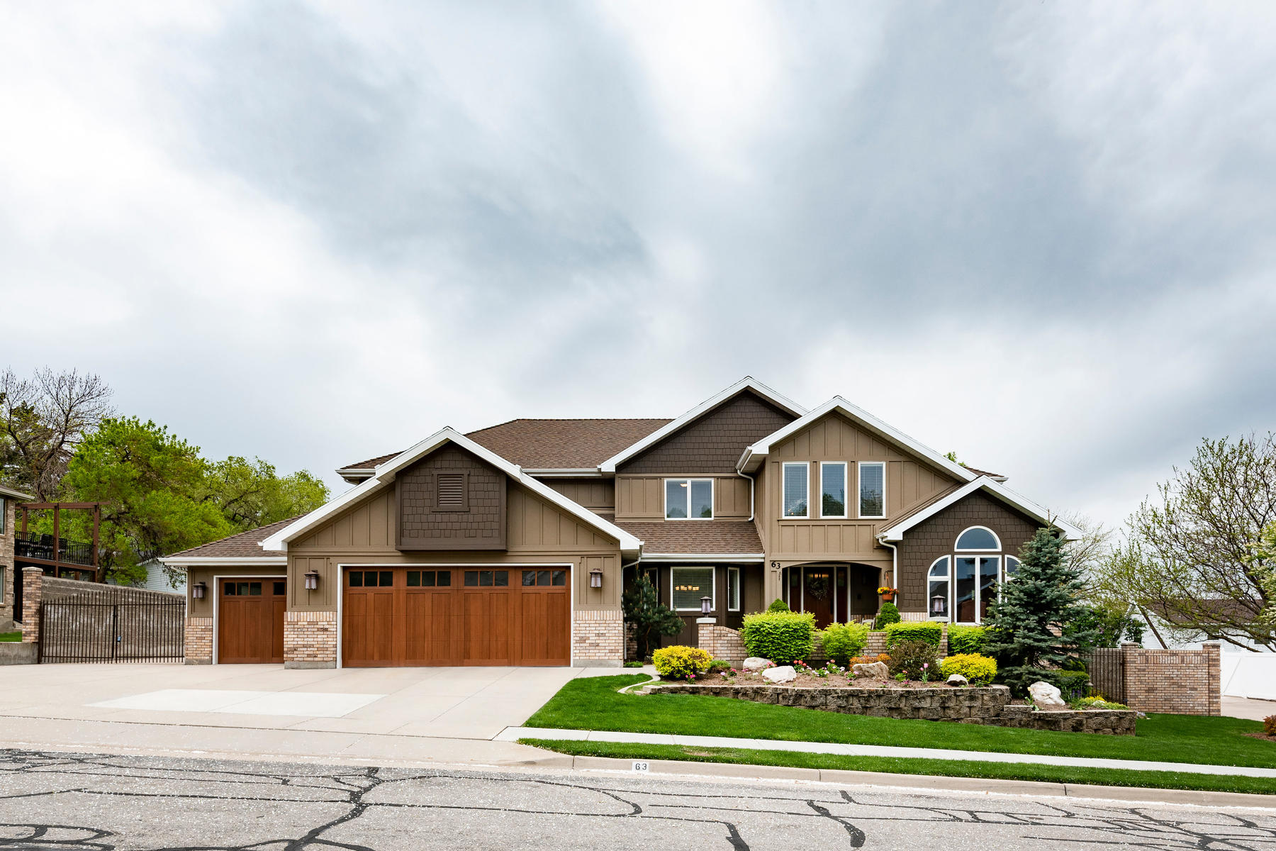 Single Family Homes for Active at Custom Home on Private Oasis 63 West 1750 North Centerville, Utah 84014 United States