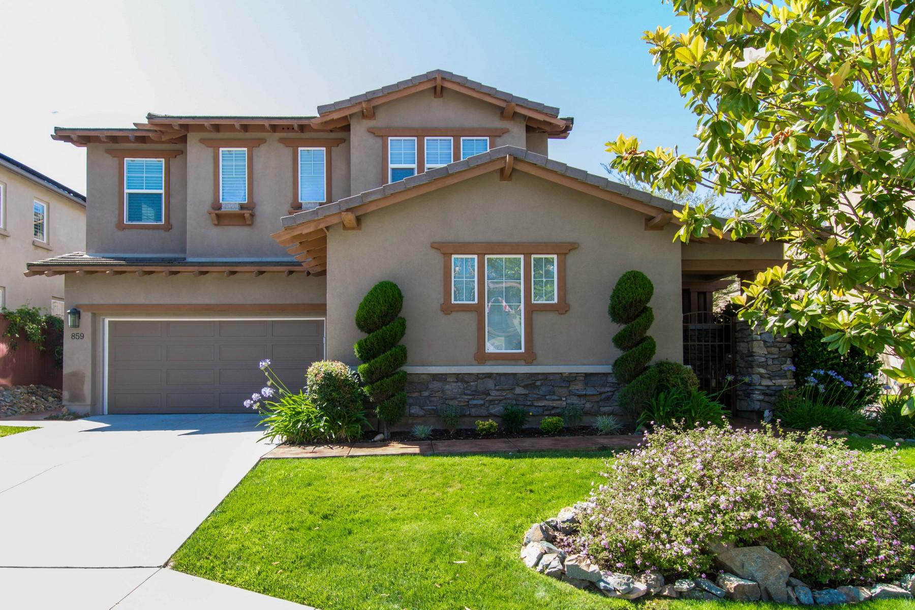 Maison unifamiliale pour l Vente à 859 Antilla Way San Marcos, Californie, 92078 États-Unis