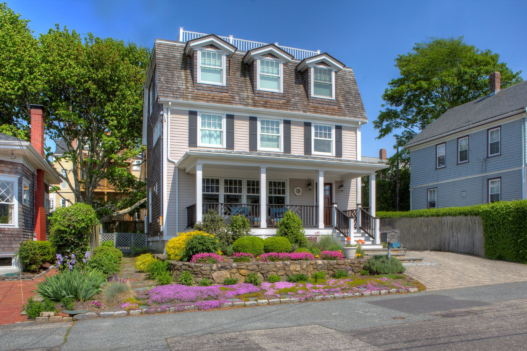 Single Family Homes for Sale at Jewel on The Point 13 Bayside Avenue Newport, Rhode Island 02840 United States