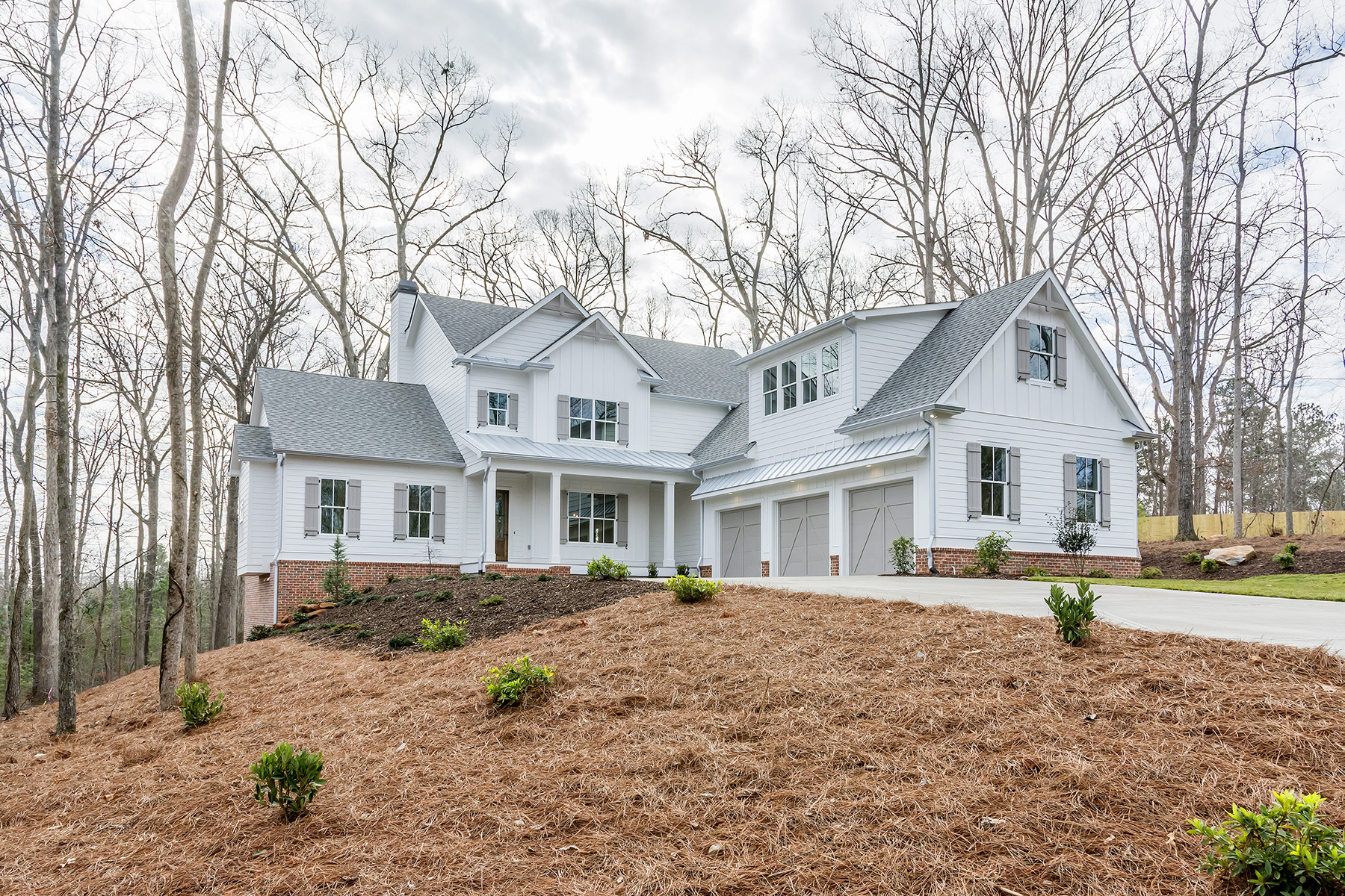 Single Family Home for Sale at Picturesque Milton Modern Farmhouse 15420 Birmingham Highway Milton, Georgia 30004 United States