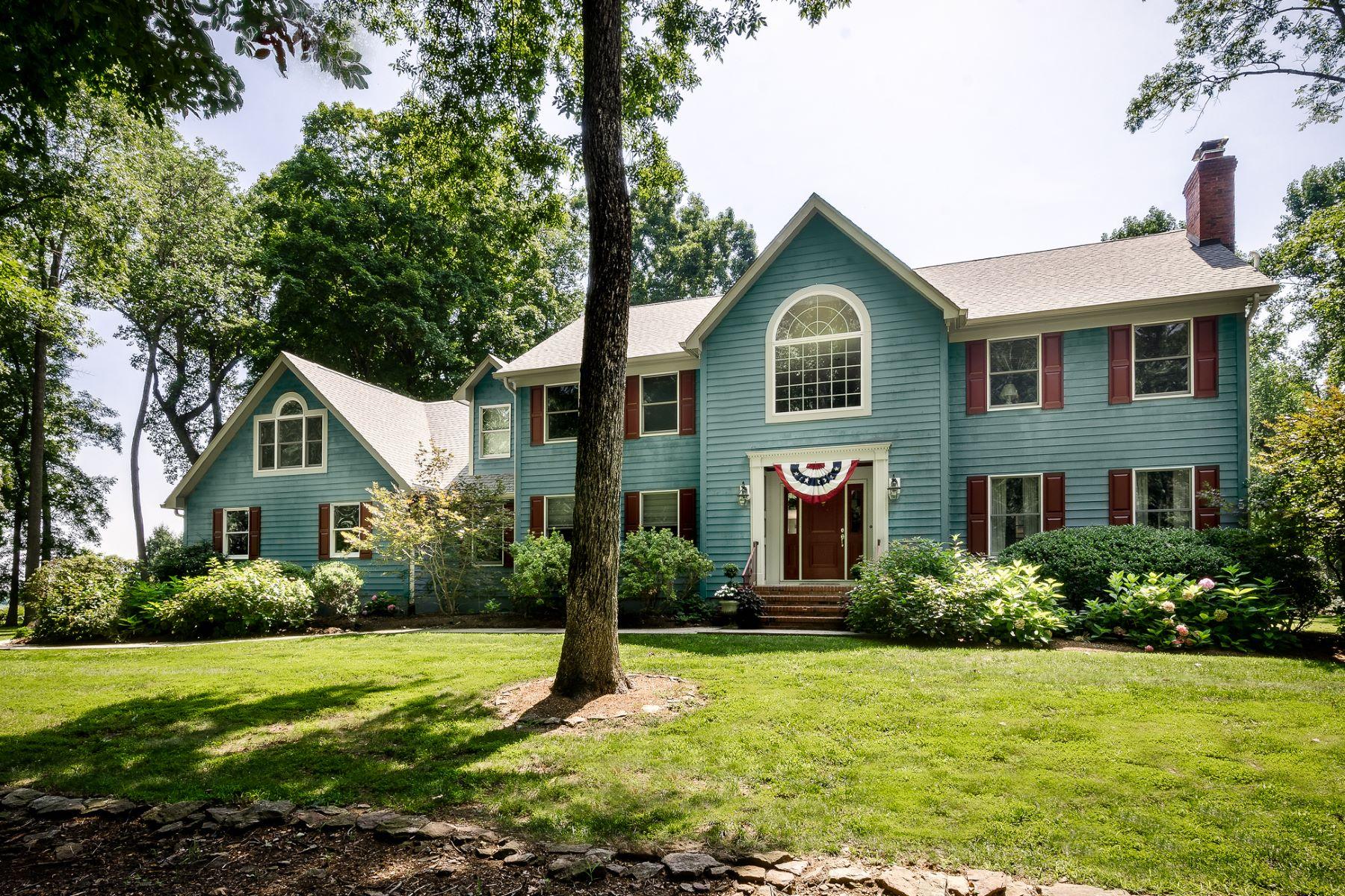Tek Ailelik Ev için Satış at Quiet location with stunning views. 32 Harbourton Woodsville Road, Pennington, New Jersey 08534 Amerika Birleşik DevletleriIn/Etrafında: Hopewell Township