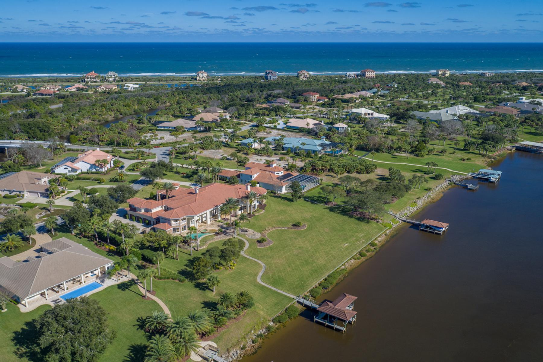 Single Family Homes için Satış at Island Estates 3 Capri Court, Palm Coast, Florida 32137 Amerika Birleşik Devletleri