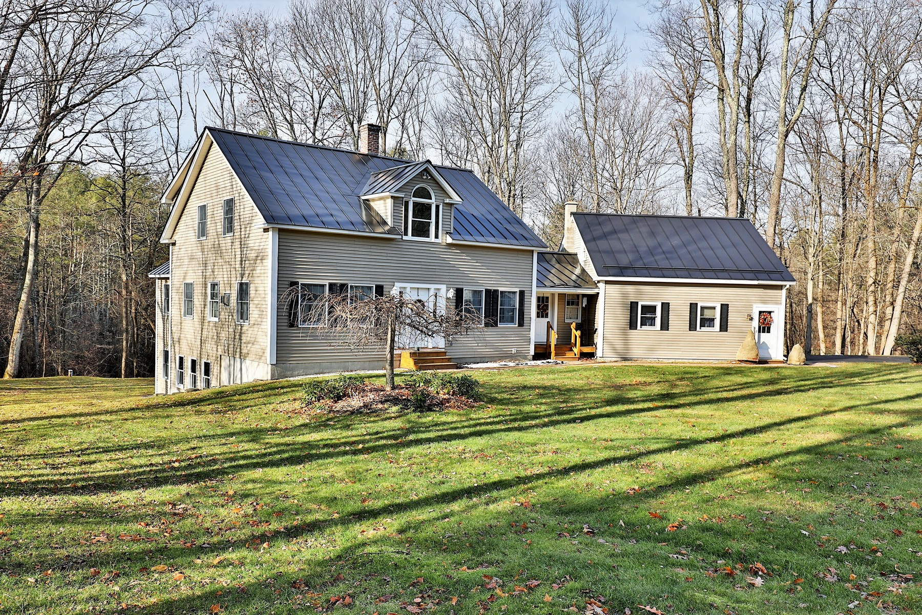 Single Family Homes for Sale at Meticulously Maintained Quality Cape 200 Lower Bartonsville Rd Rockingham, Vermont 05101 United States