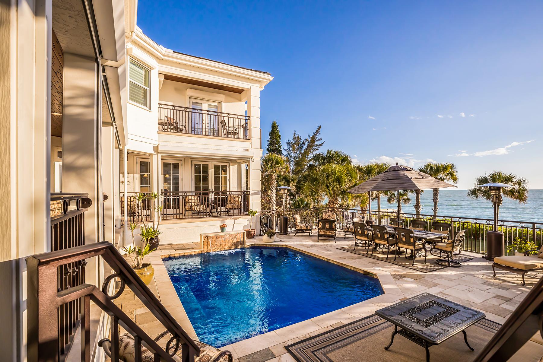 Single Family Homes for Sale at 4009 Casey Key Rd Nokomis, Florida 34275 United States
