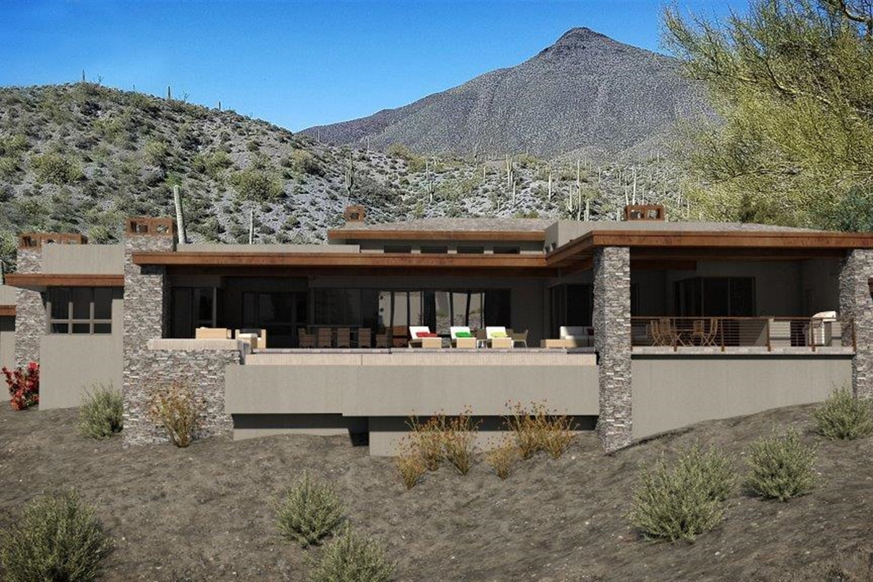 Single Family Home for Sale at Desert Mountain's prestigious Saguaro Forest 42382 N Chiricahua Pass, Scottsdale, Arizona, 85262 United States