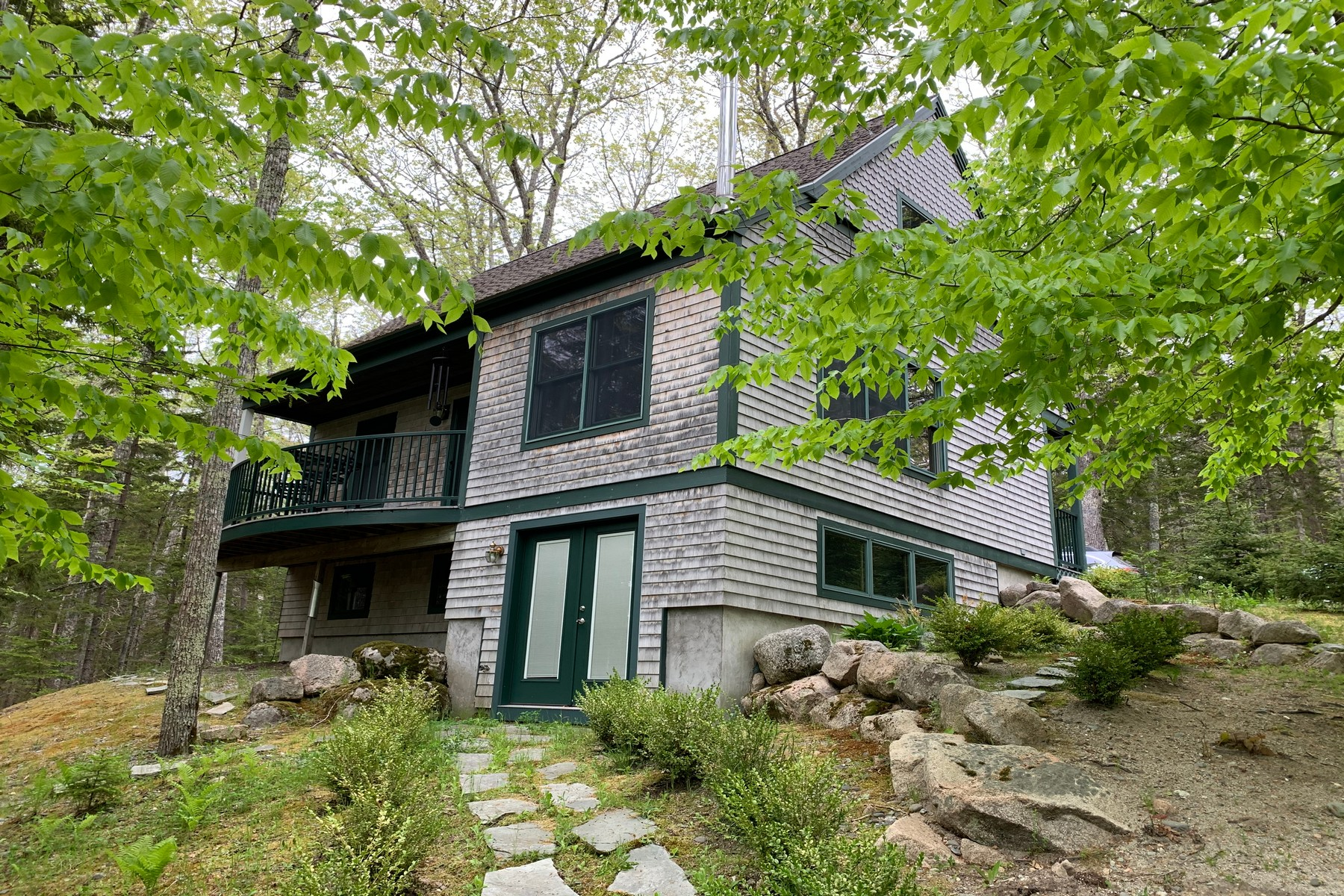 Single Family Homes for Sale at The Trail House 343 Sound Drive Mount Desert, Maine 04660 United States