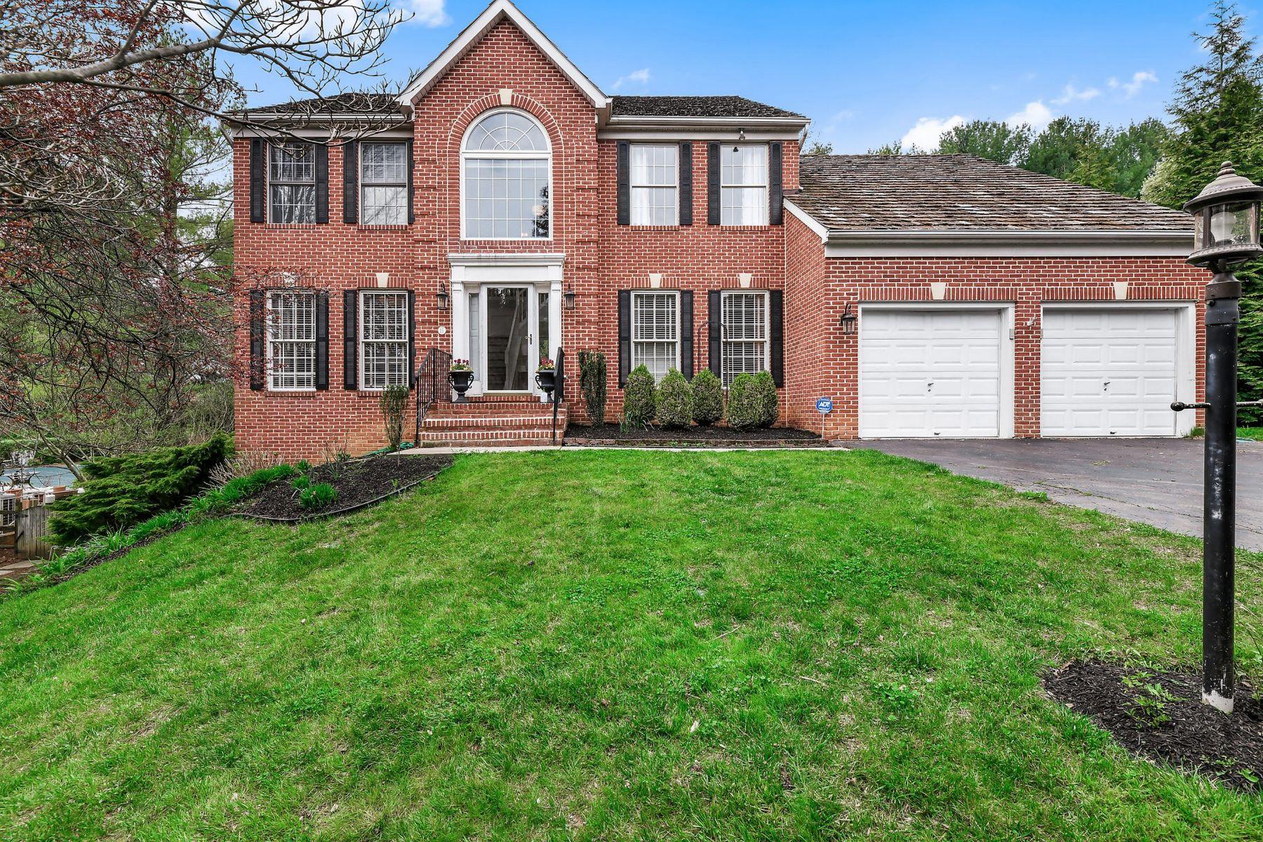 Single Family Homes por un Venta en Hillside at Seminary 15 Stony Meadow Court Lutherville Timonium, Maryland 21093 Estados Unidos
