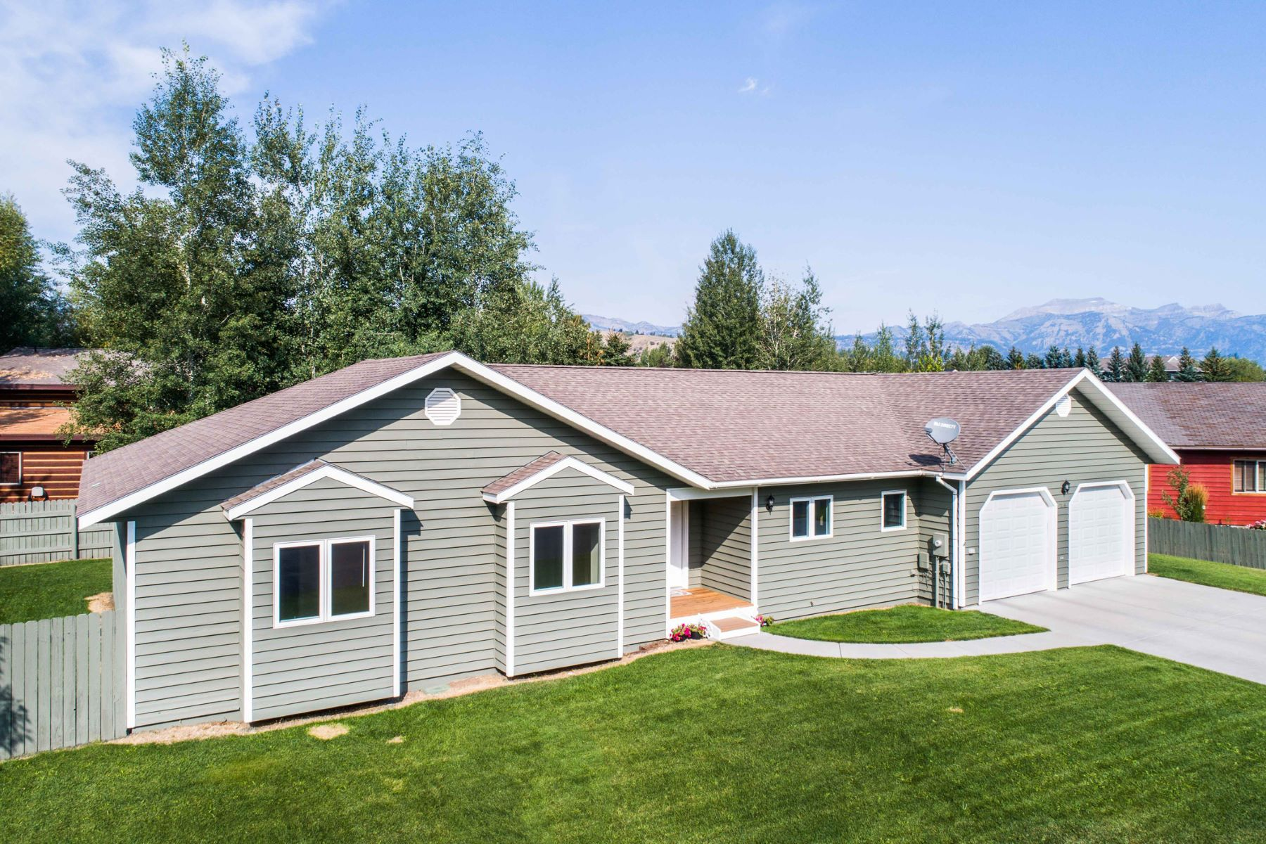 Single Family Home for Sale at Cottonwood Park Home 2146 Corner Creek Lane, Jackson, Wyoming, 83001 Jackson Hole, United States