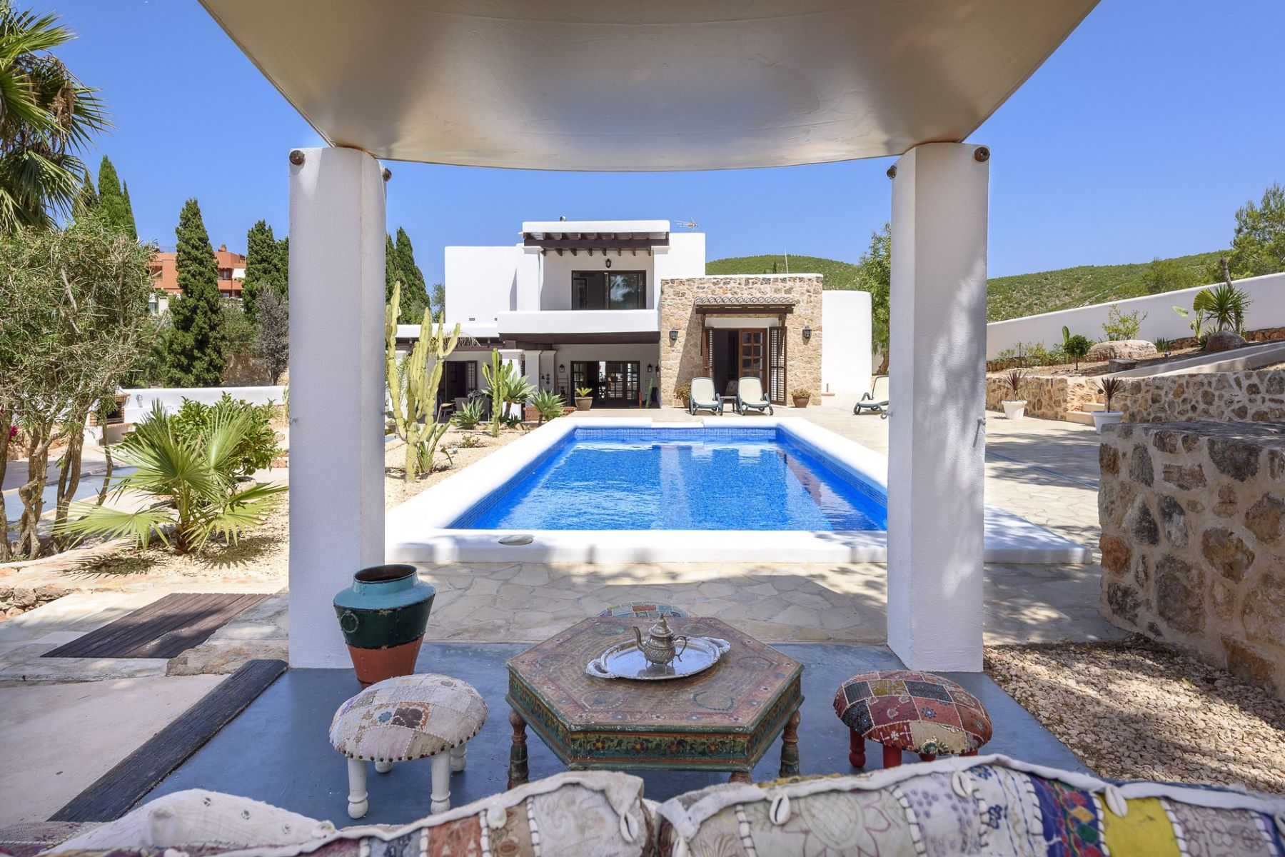 Single Family Home for Sale at Charming, rustic-style house with views Santa Eulalia, Ibiza, 07840 Spain